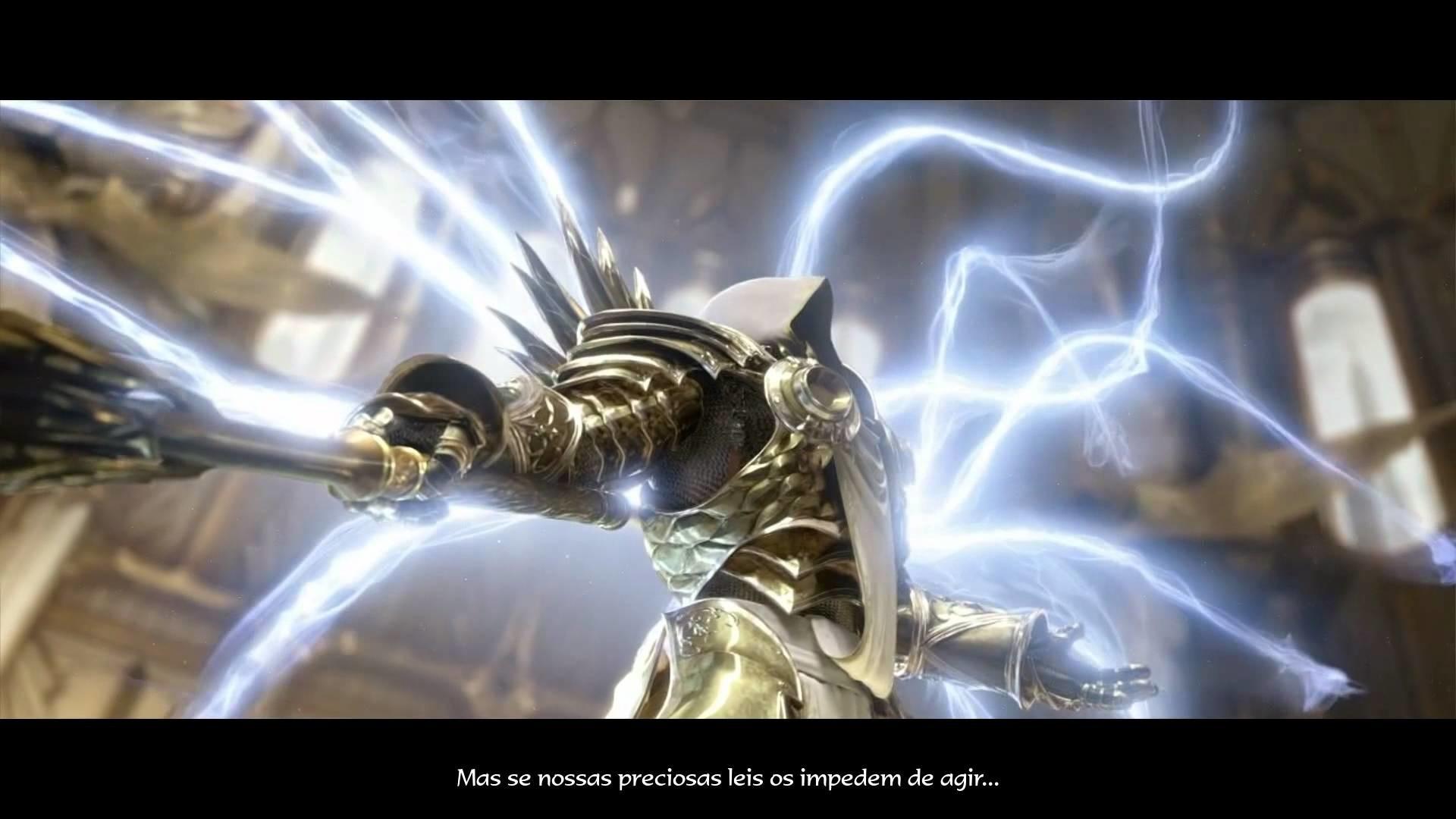 Diablo 3 – O Sacrificio de Tyrael (Portugues) HD – YouTube