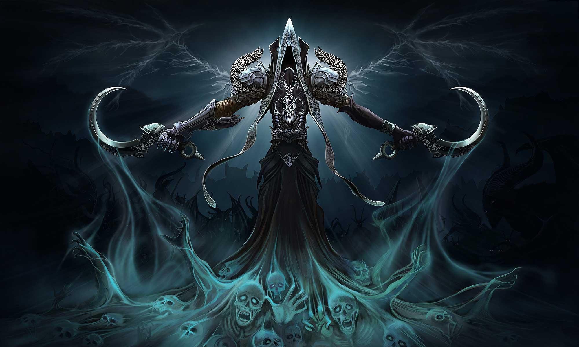 Diablo 3 Reaper of Souls Angel of Death Wallpaper