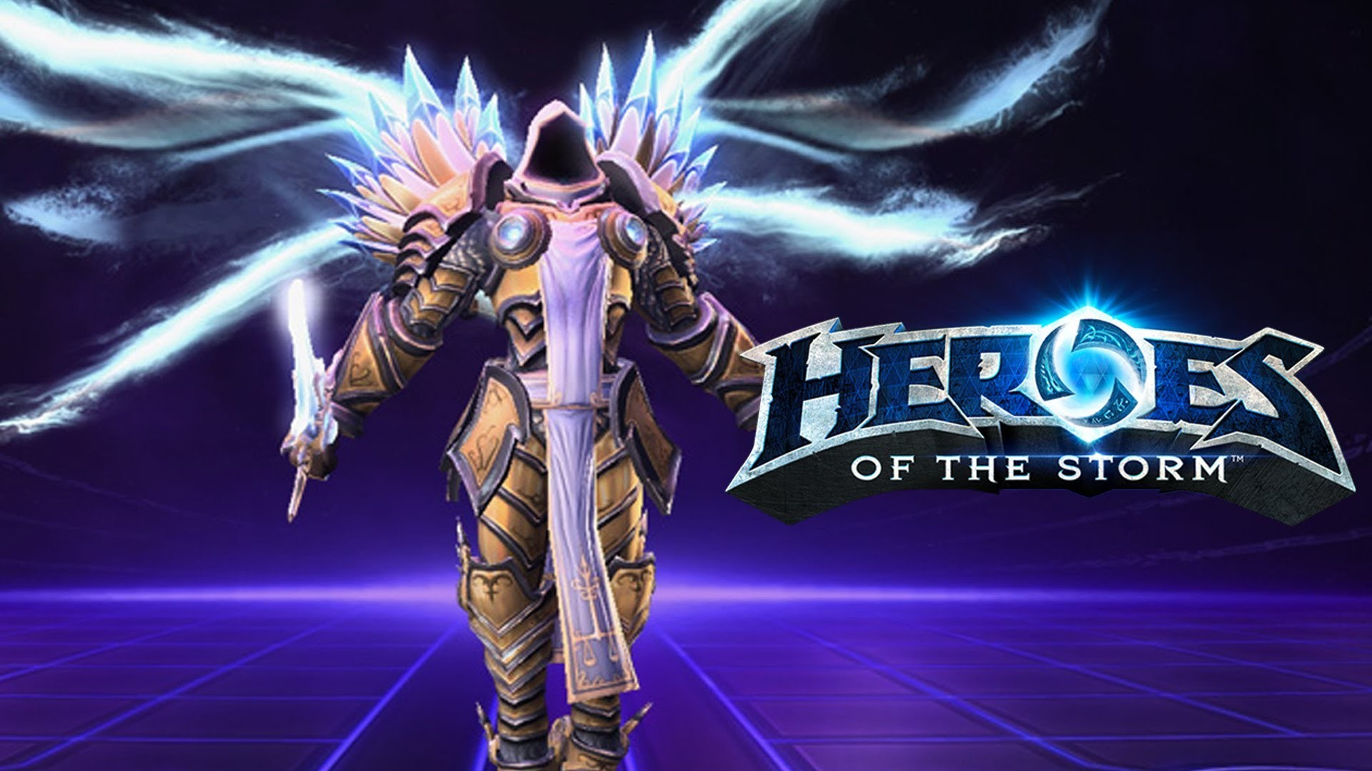 Heroes of the Storm: Level 4 Tyrael in Tomb of the Spider Queen – YouTube