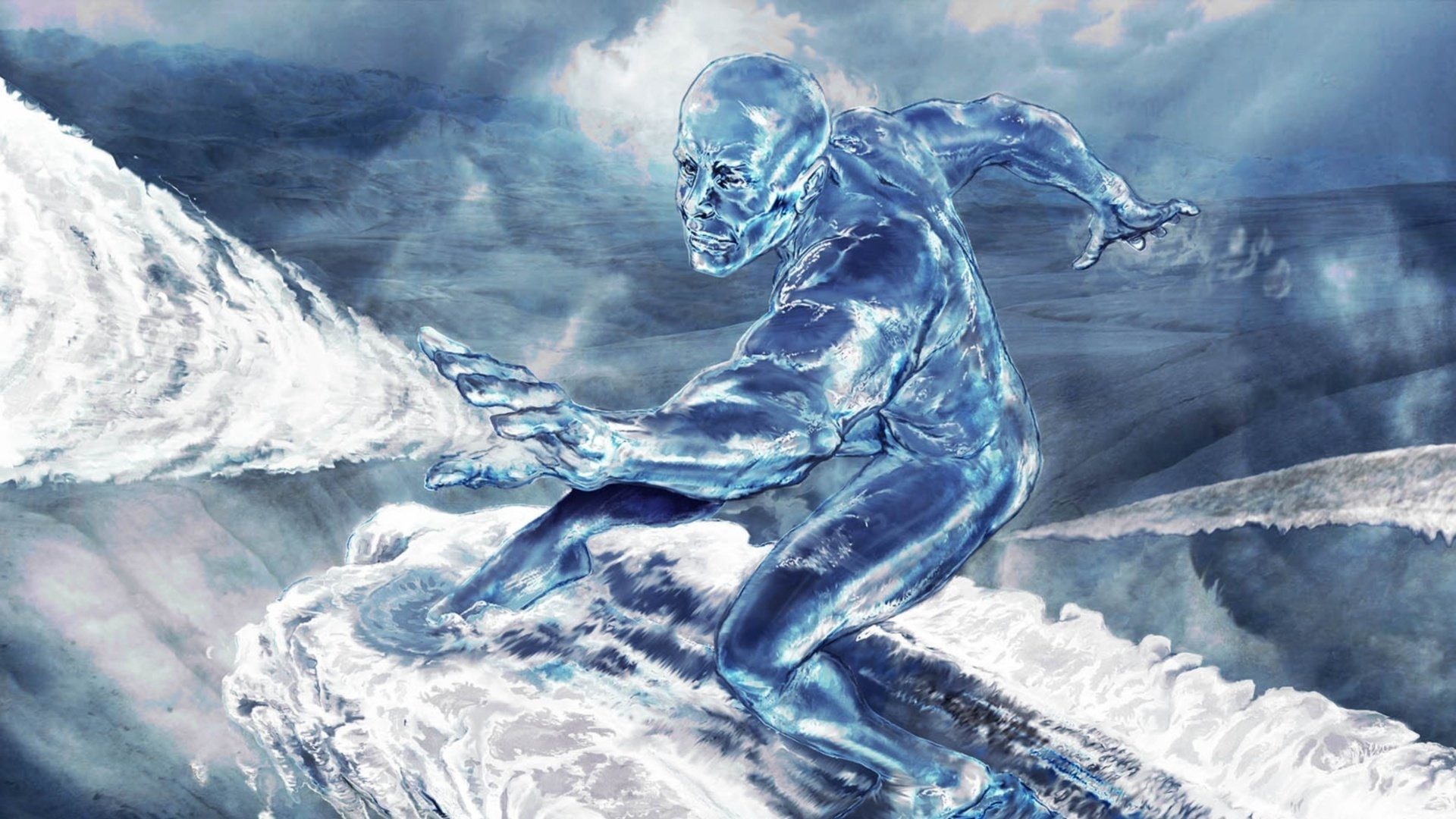 Video Game – Marvel: Ultimate Alliance Silver Surfer Wallpaper