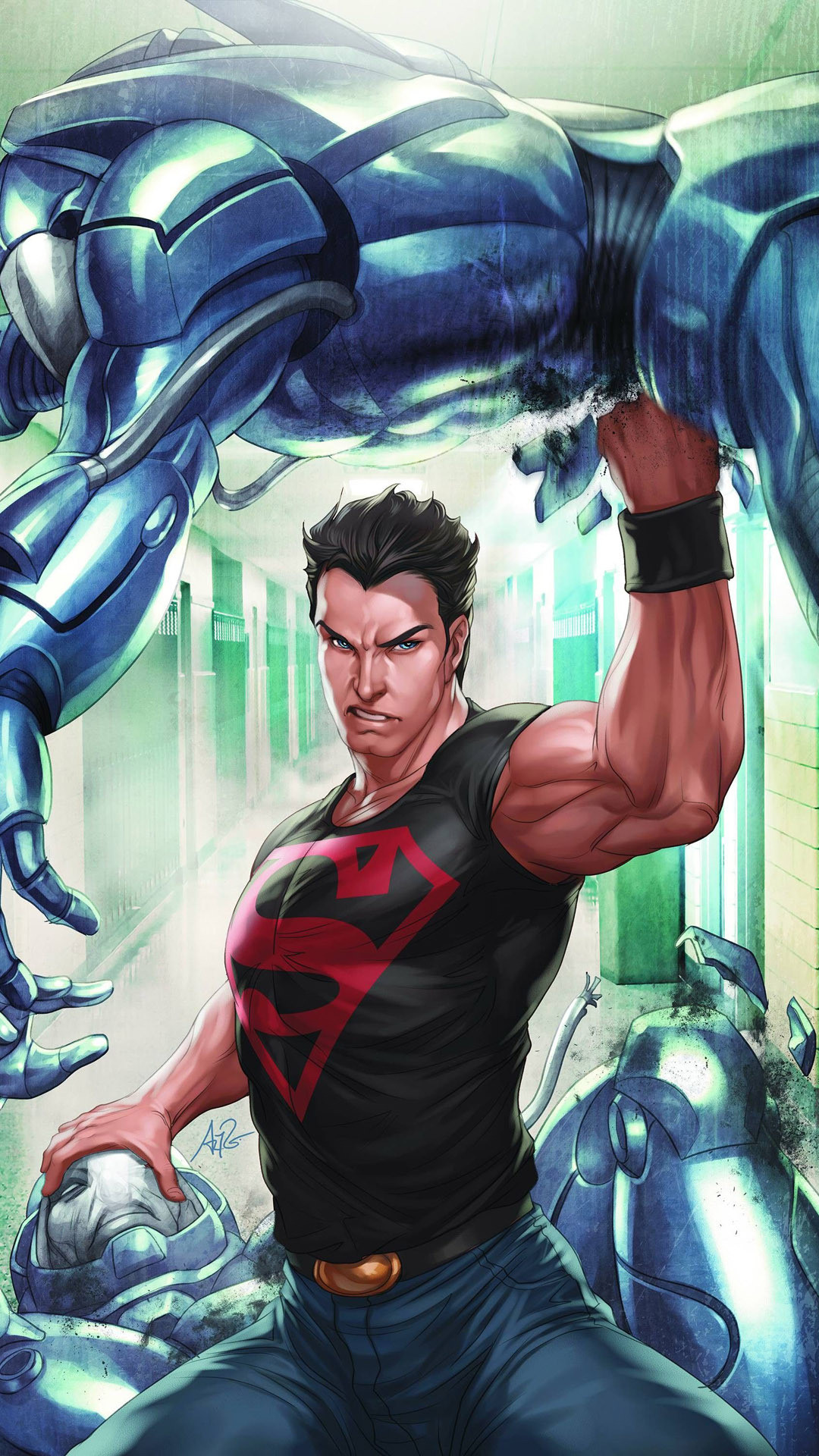 … superboy mobile wallpaper 7288 …