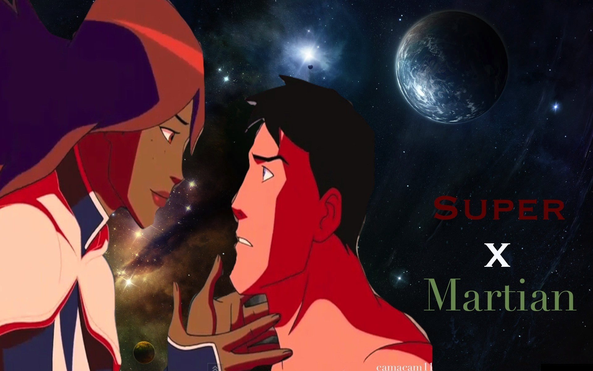 Miss Martian & Superboy images miss martian & superboy HD wallpaper and  background photos
