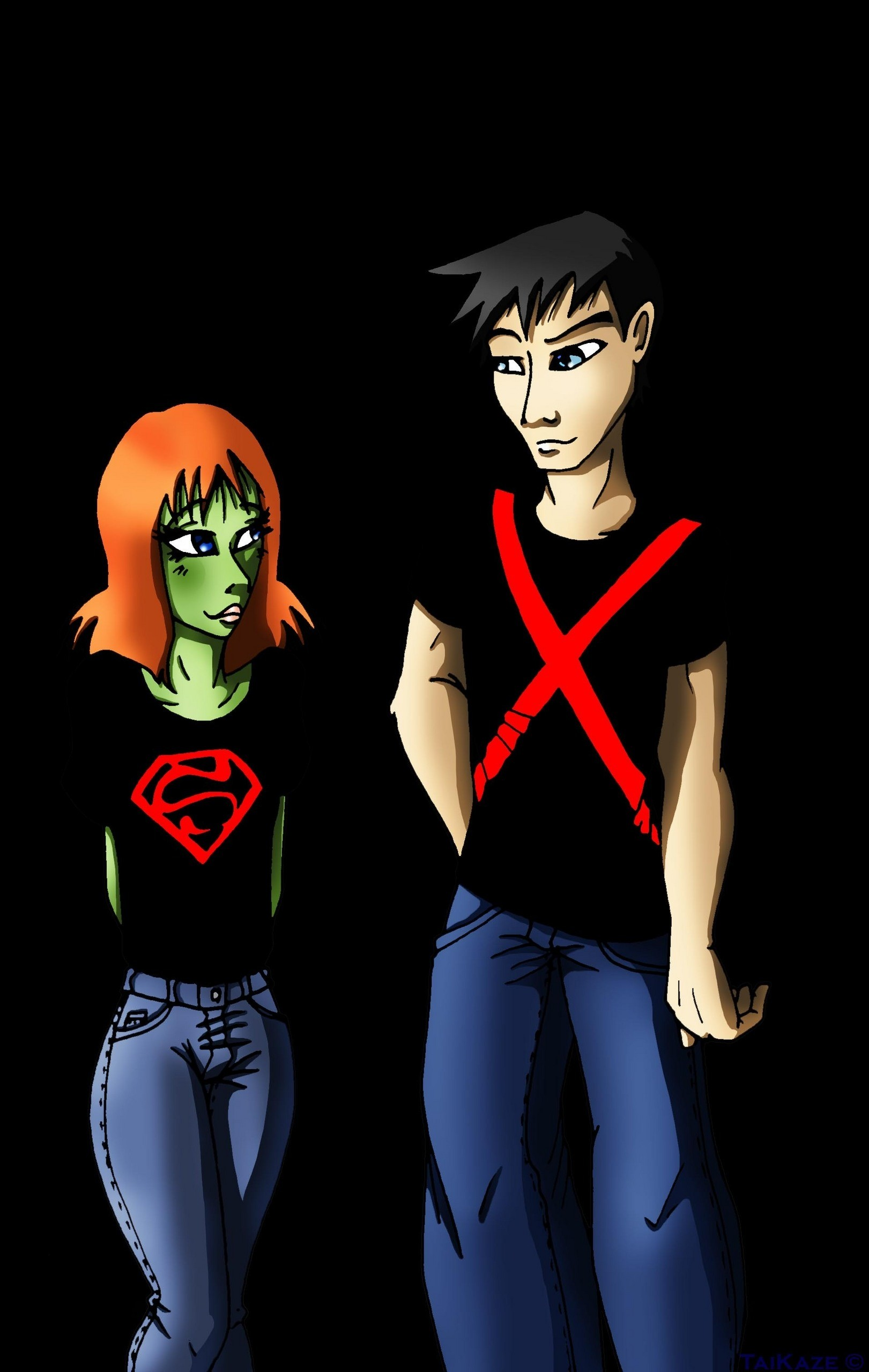 Miss Martian & Superboy images Miss Martian & Superboy Young Justice HD  wallpaper and background photos