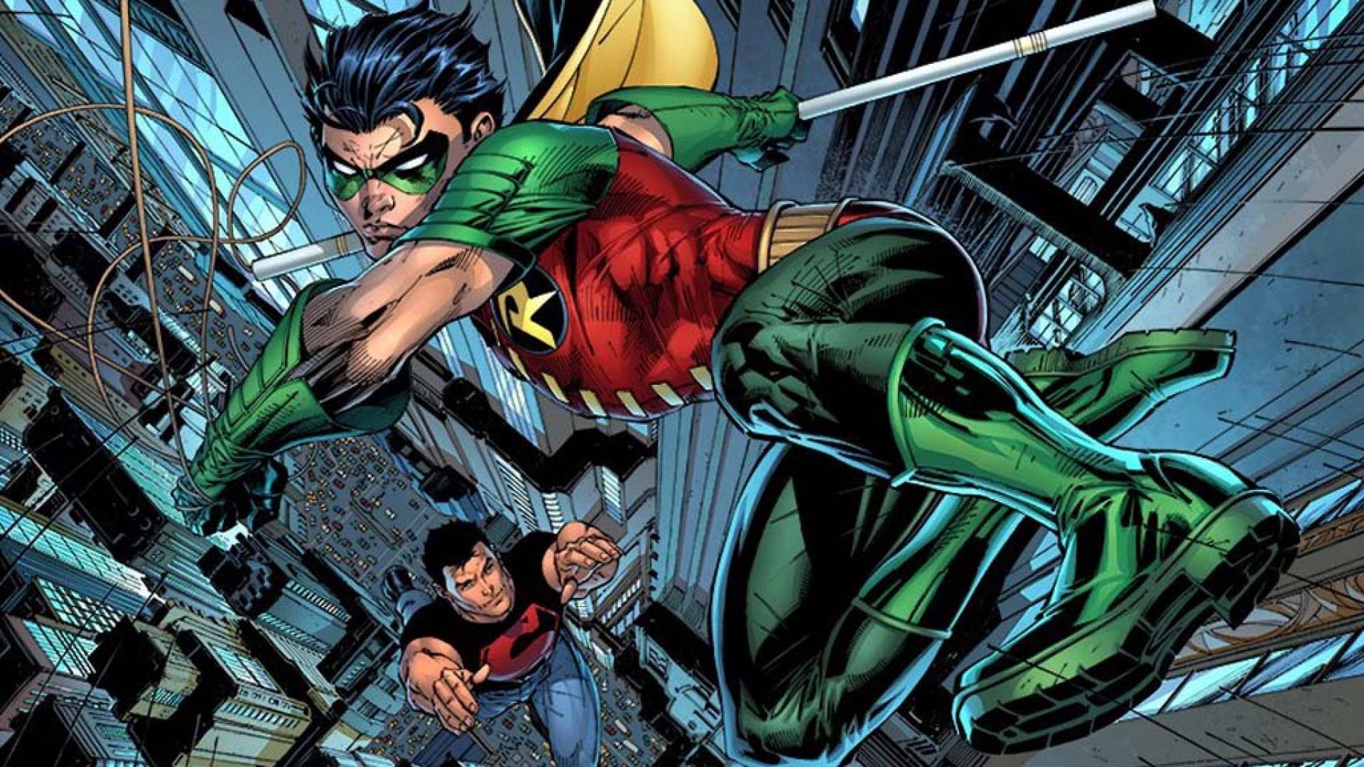 Dc comics robin superboy teen titans young justice wallpaper .