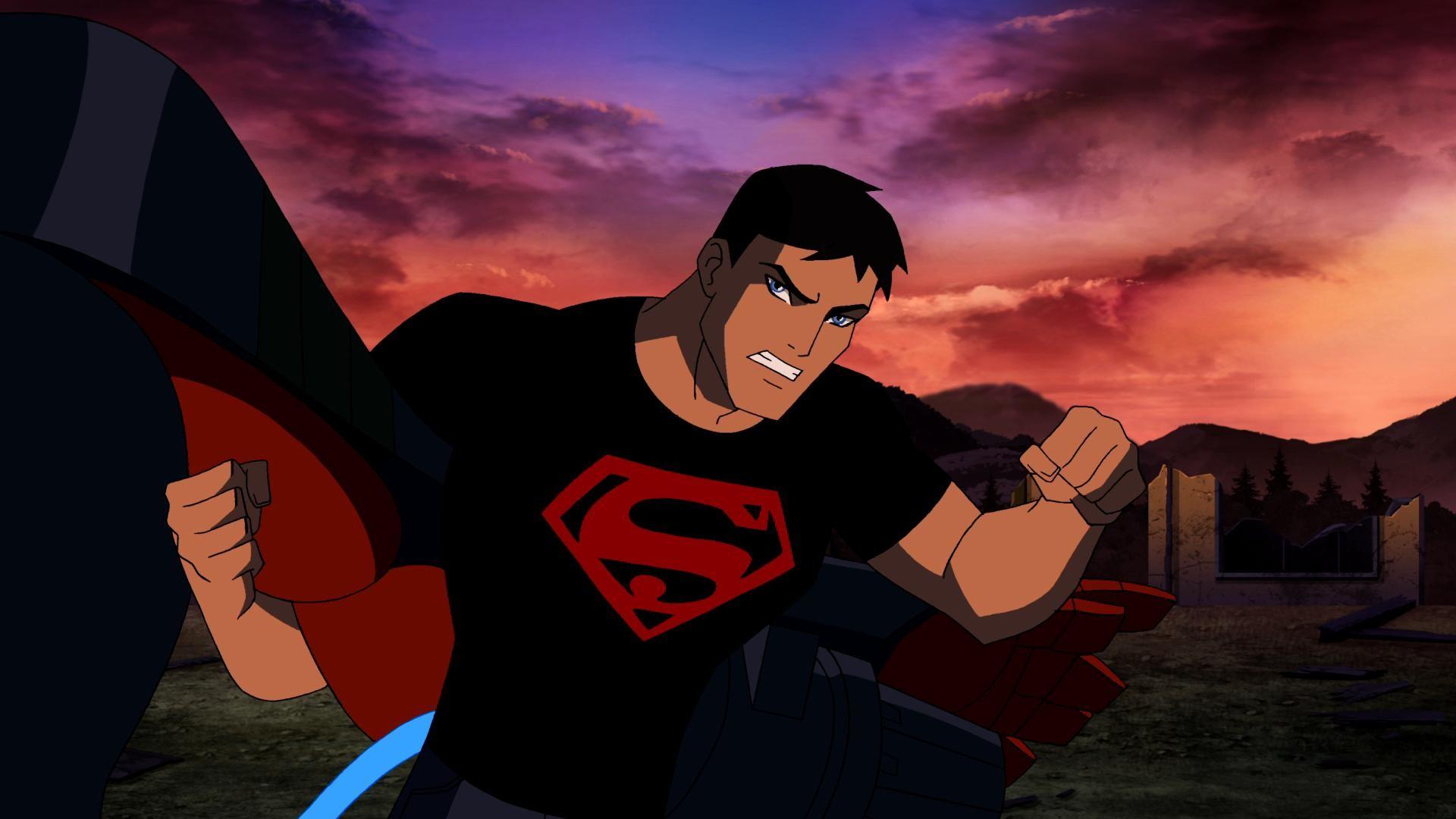 Batgirl and Supergirl vs Robin and Superboy