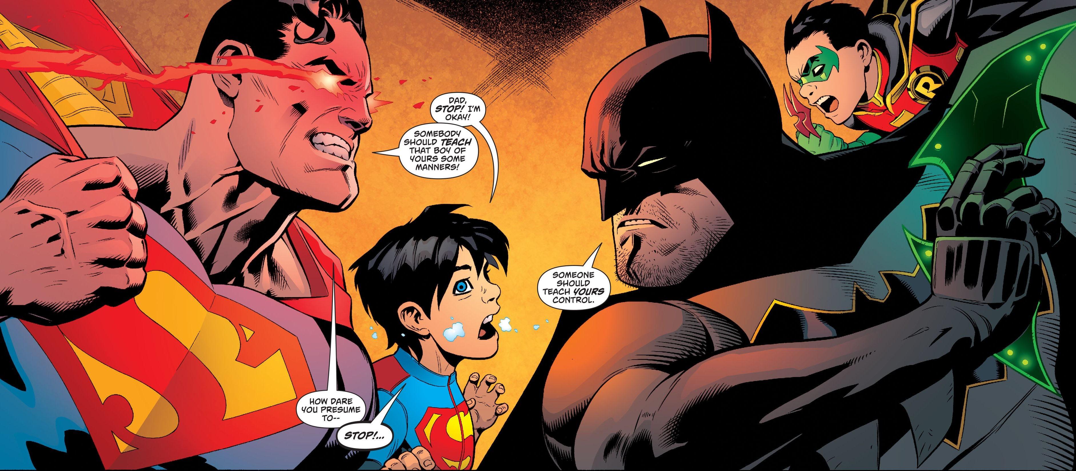 DC Comics Rebirth Spoilers & Review: Superman #10 & Batman #10 With Super  Sons Superboy & Robin, I Am Suicide Squad & More DC Rebirth!