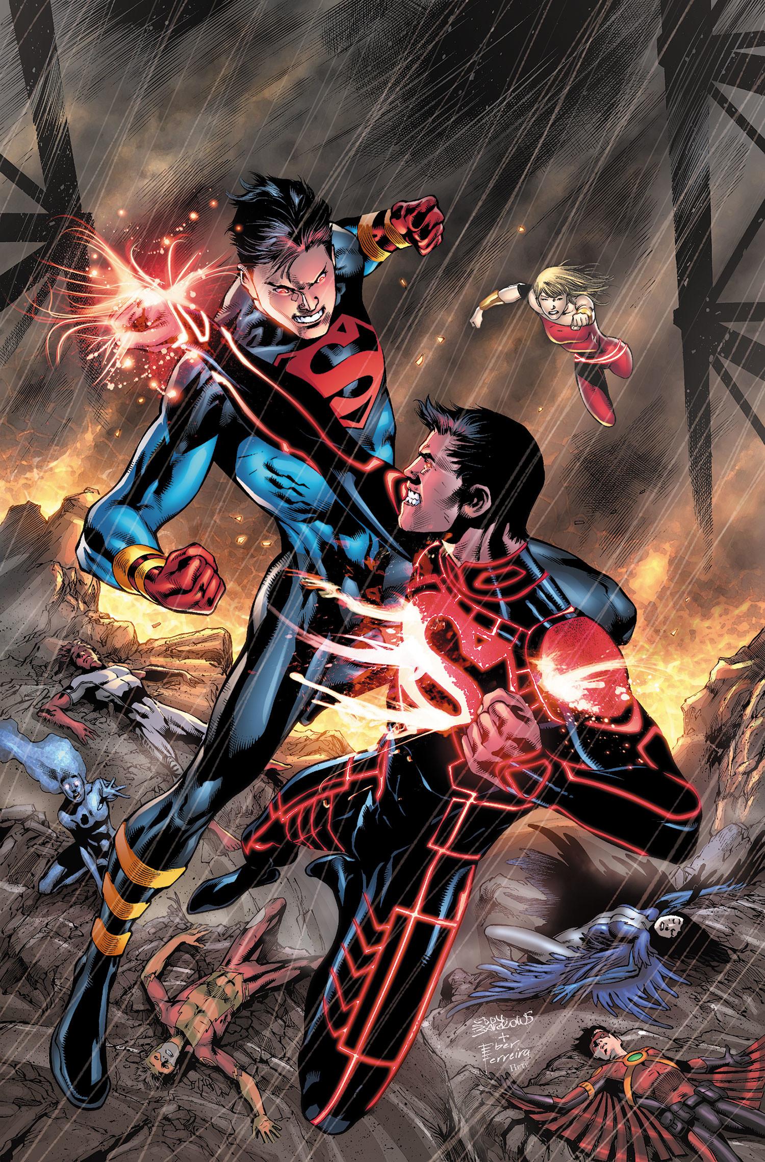 Superboy vs Grimmjow