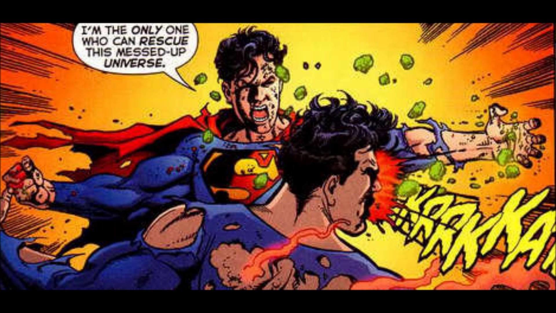 Superboy-Prime vs. Superman – Infinite Crisis #7, DC Comics