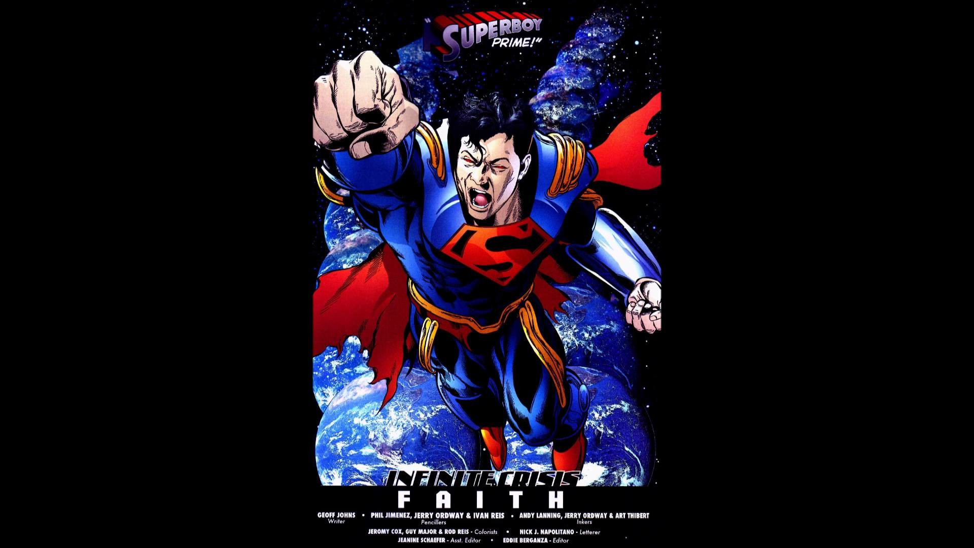 TOP FEATS – SUPERBOY PRIME – THE DEFINITION OF OVERPOWER