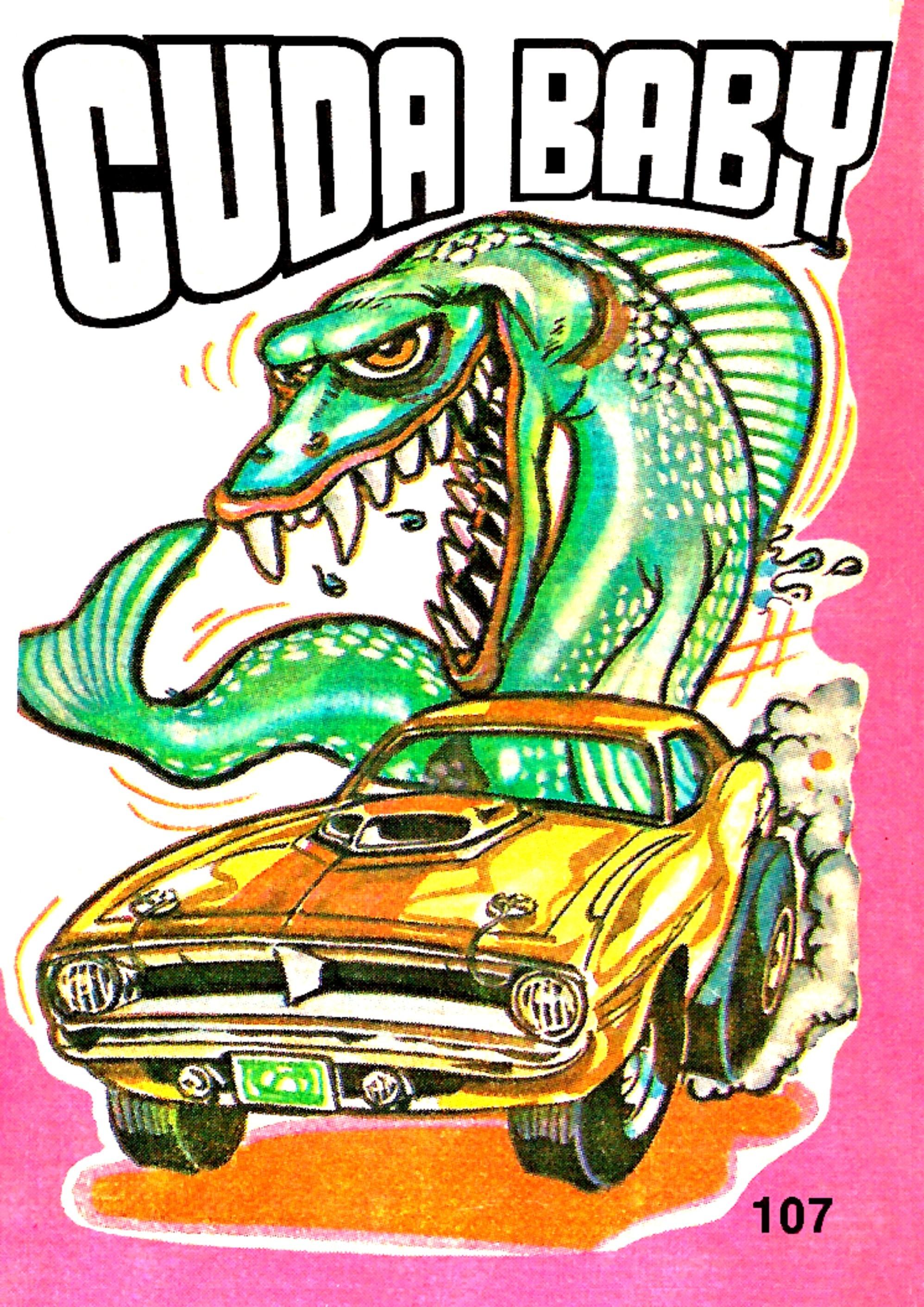 Odd Rods | Odder Odd Rods , Jan 1970 Trading Card by Donruss