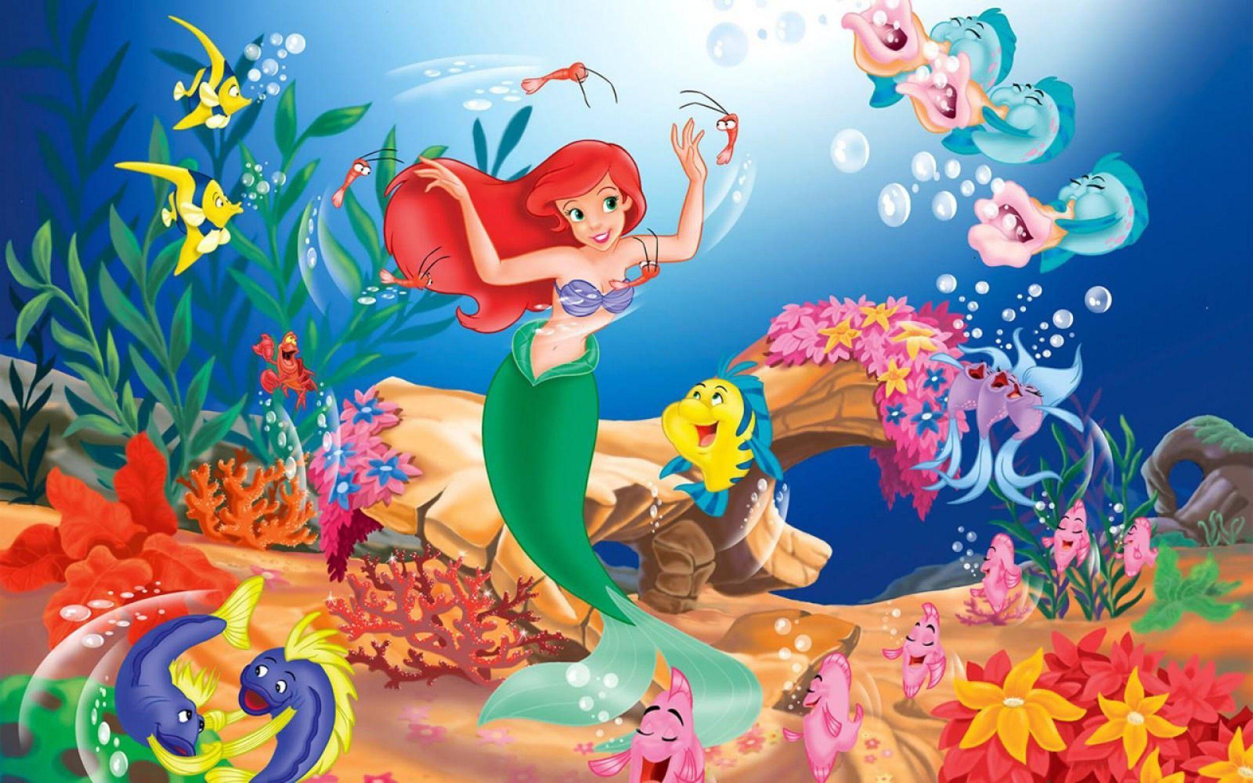 Mermaid Cartoon HD Wallpaper – Cartoon Wallpapers