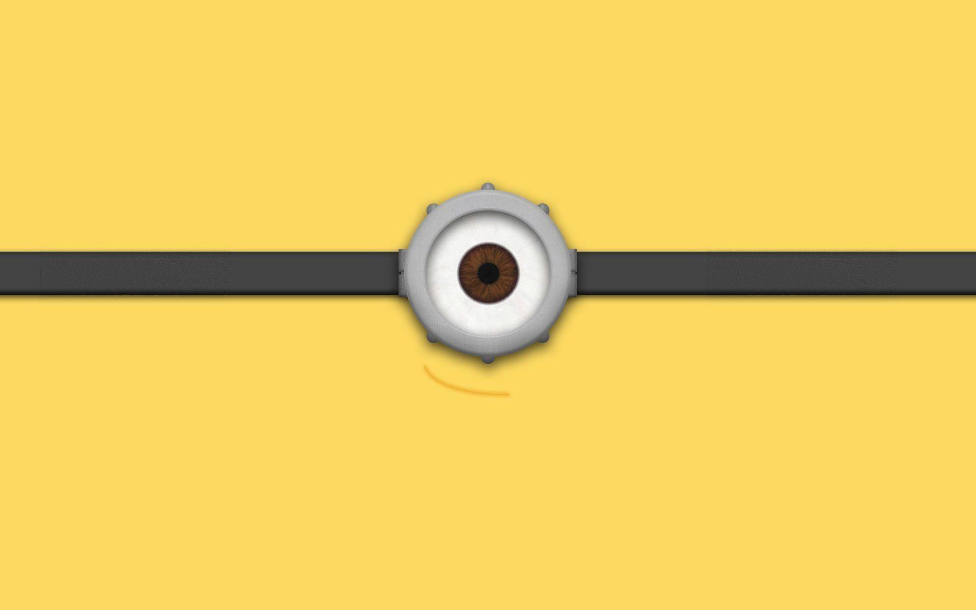 Minion eye Wallpaper #