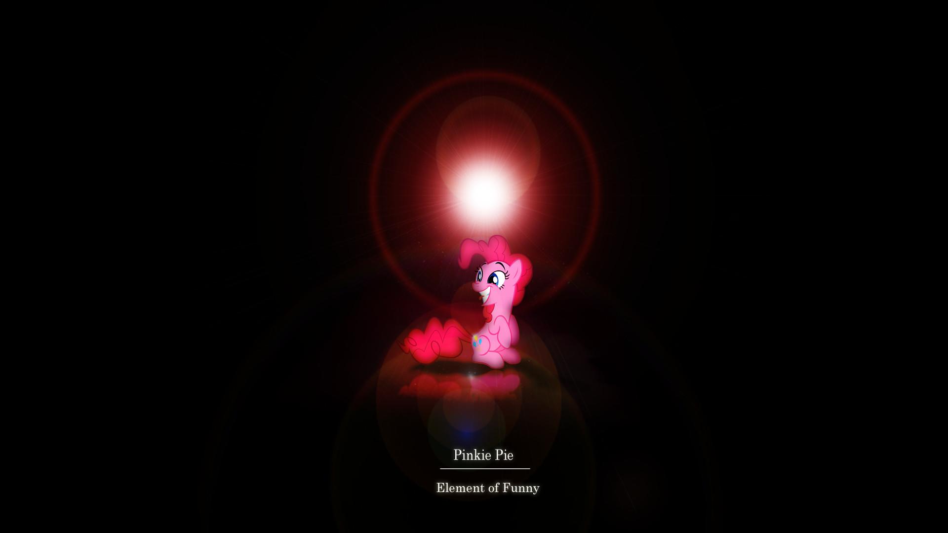 … Element of Funny – Pinkie Pie Wallpaper by Zoekleinman