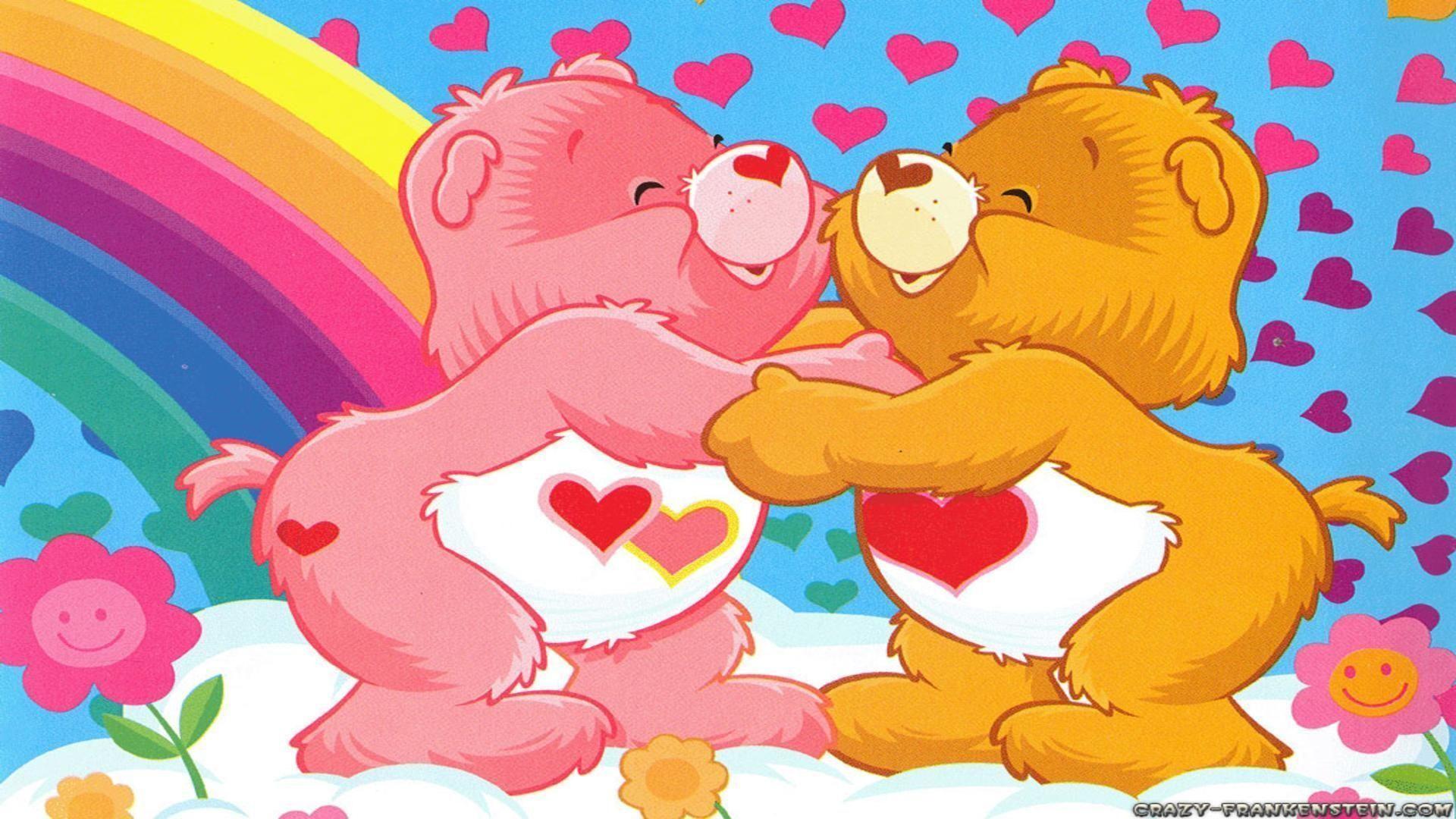 Care bears love wallpapers free desktop background – free .