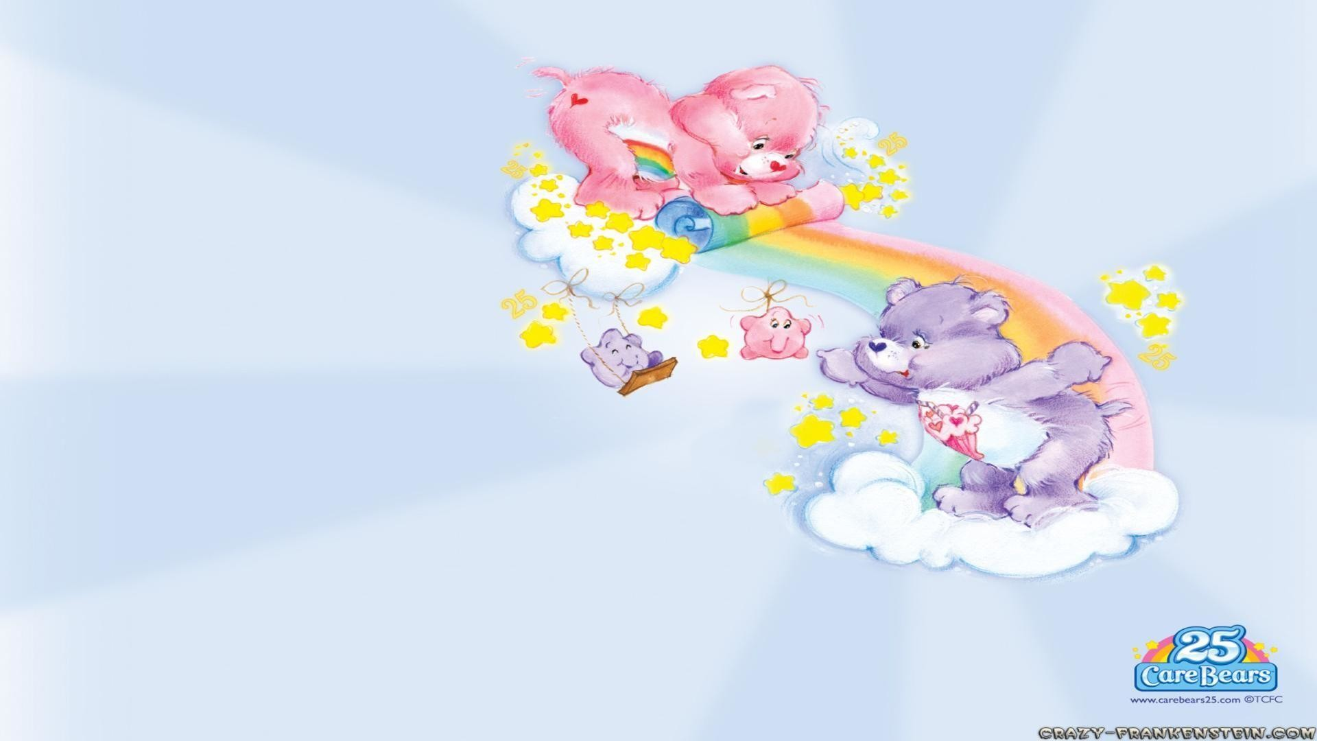 Clouds care bears wallpapers free desktop background – free .