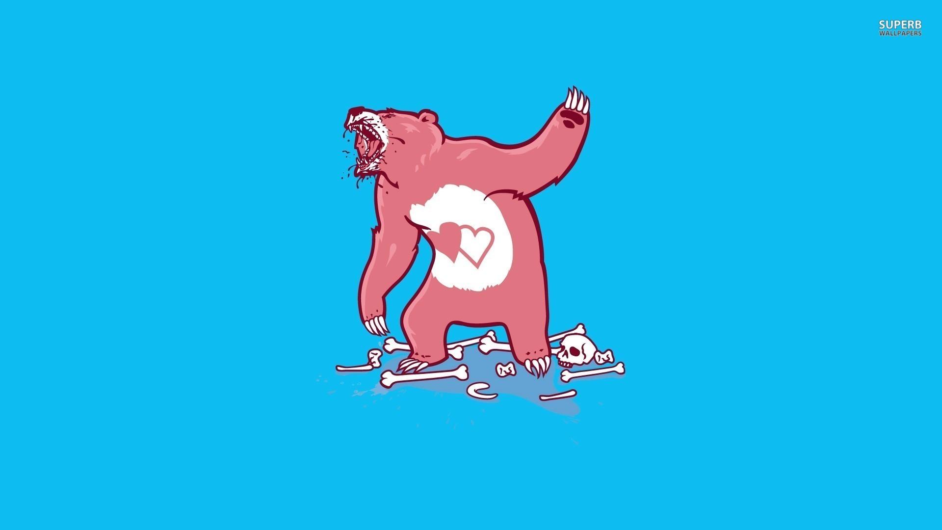 desktop funny care bear pictures wallpaper