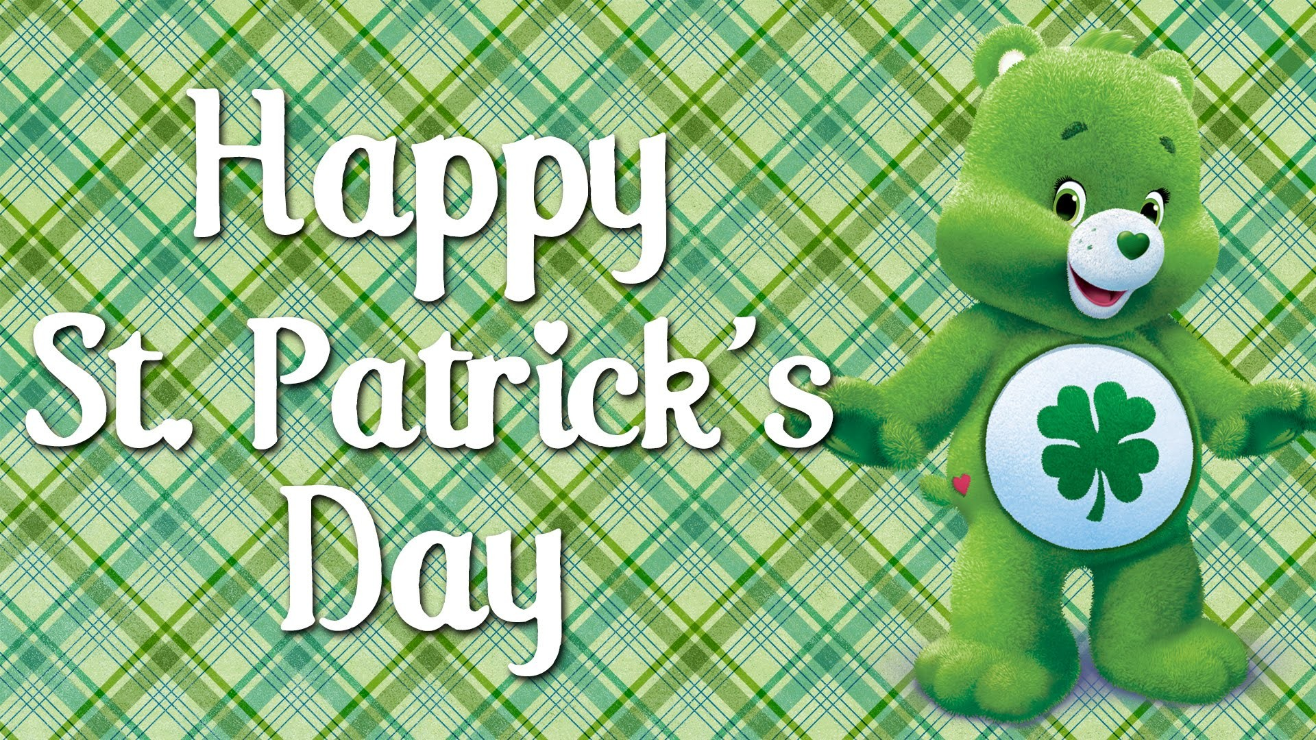 Happy St Patrick's Day from the Care Bears! | Good Luck Bear's Best Moments  – YouTube