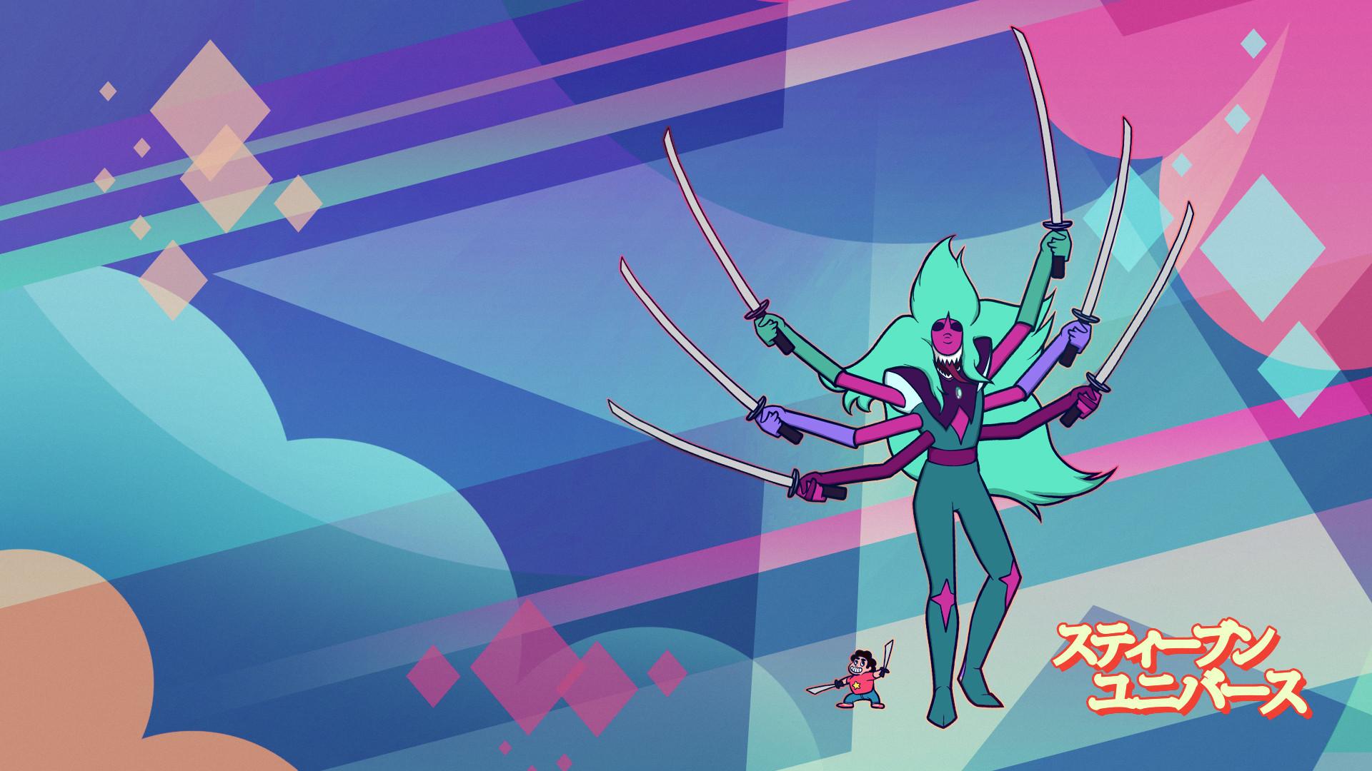 Steven Universe – Alexandrite Wallpaper by Veletan Steven Universe –  Alexandrite Wallpaper by Veletan
