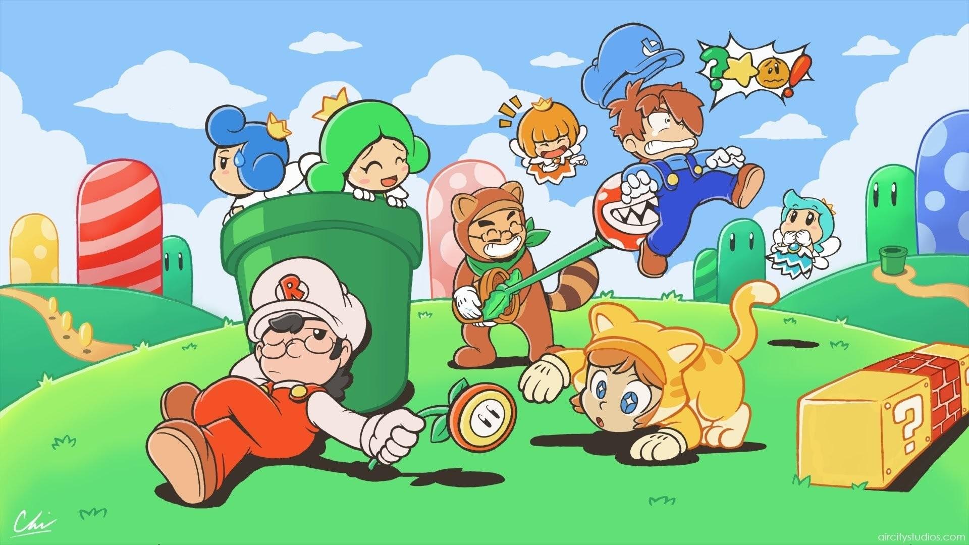 Super Mario Wallpapers Wallpaper · Desktop Backgrounds