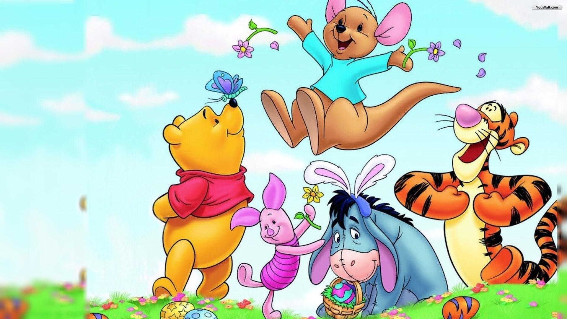 Winnie the pooh and friends wallpaper desktop