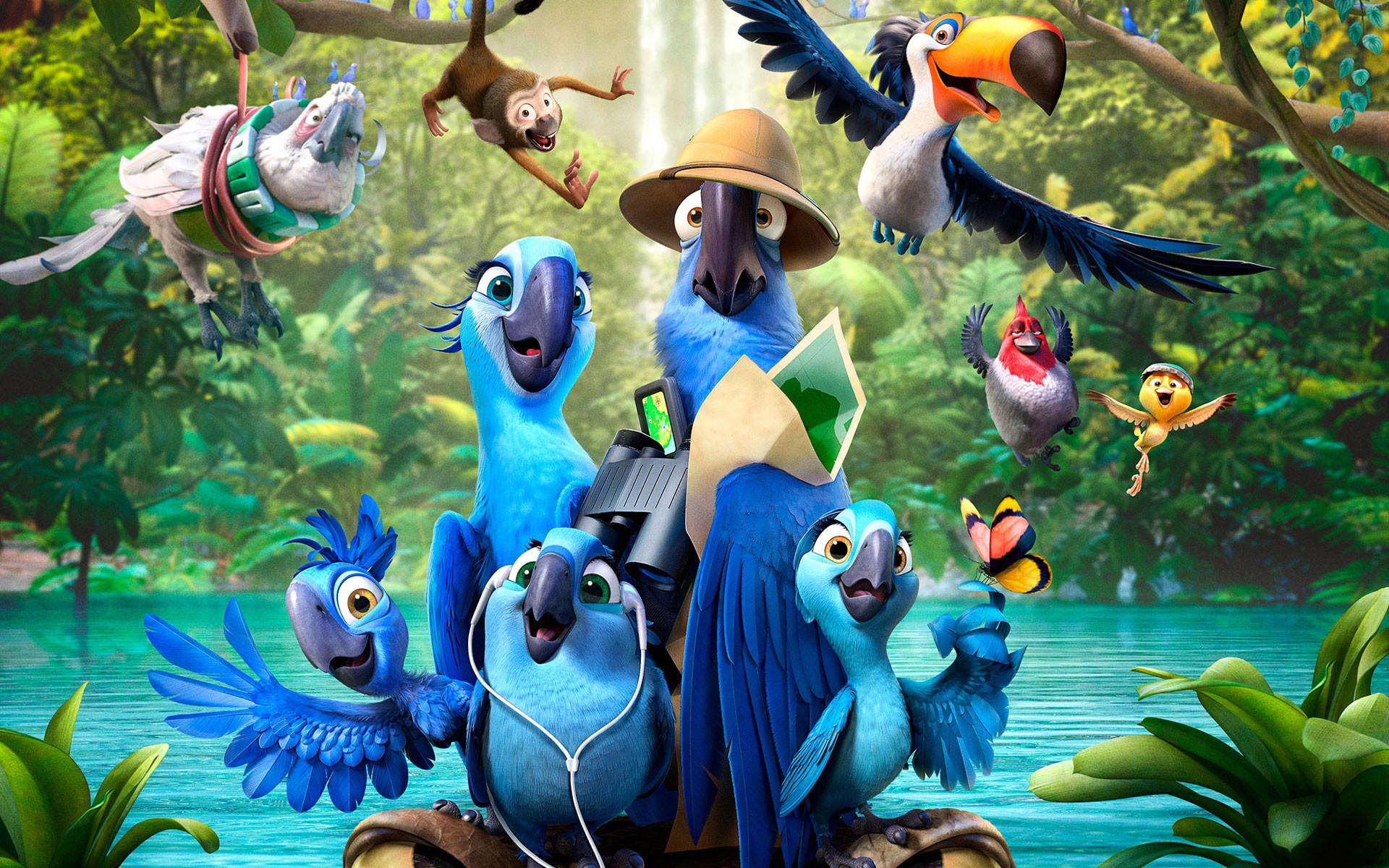 Rio 2 Movie Character Desktop Backgrounds
