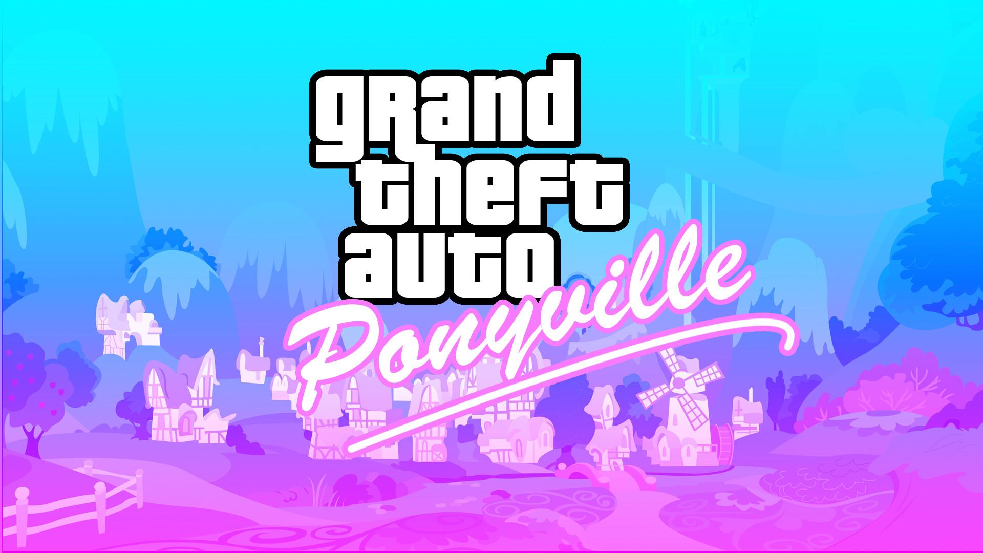 Grand Theft Auto GTA My Little Pony g wallpaper     112758    WallpaperUP