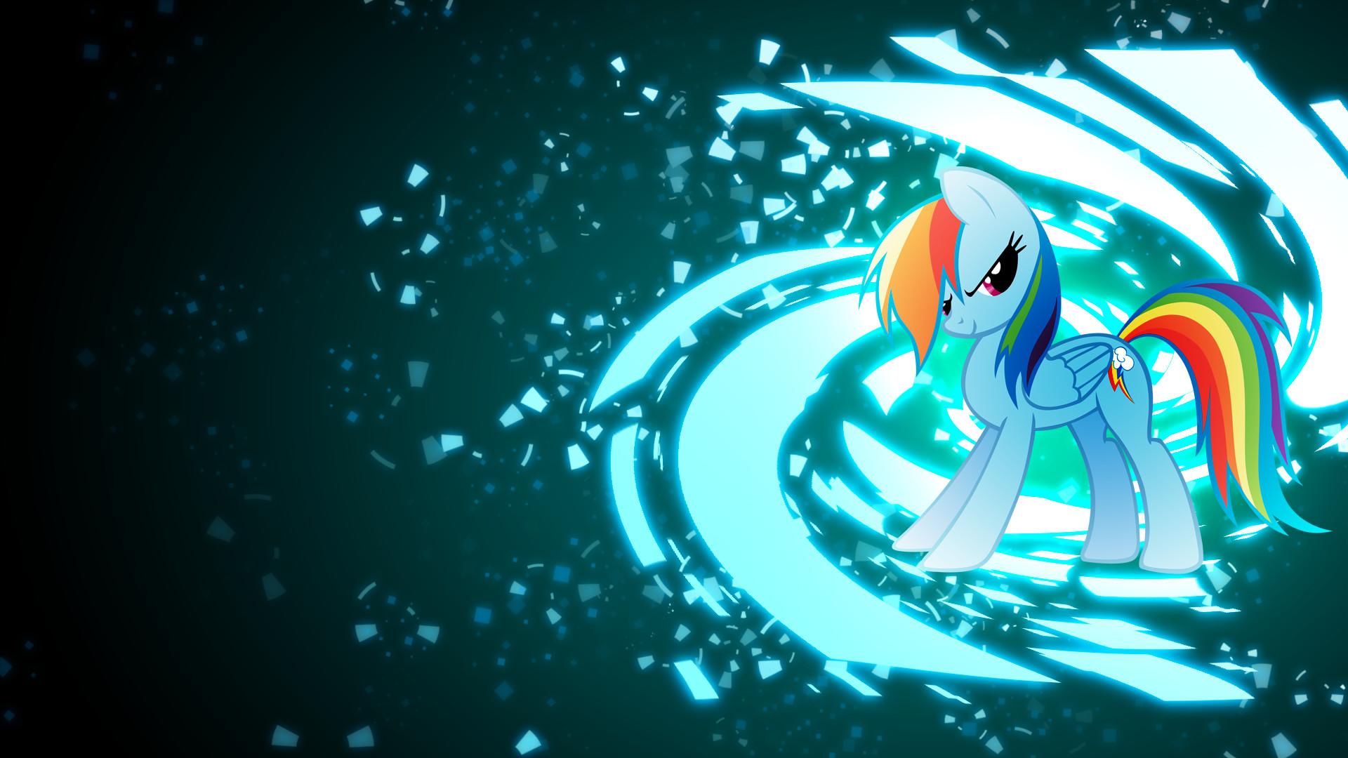 My Little Pony Rainbow Dash Vector · HD Wallpaper   Background ID:220086