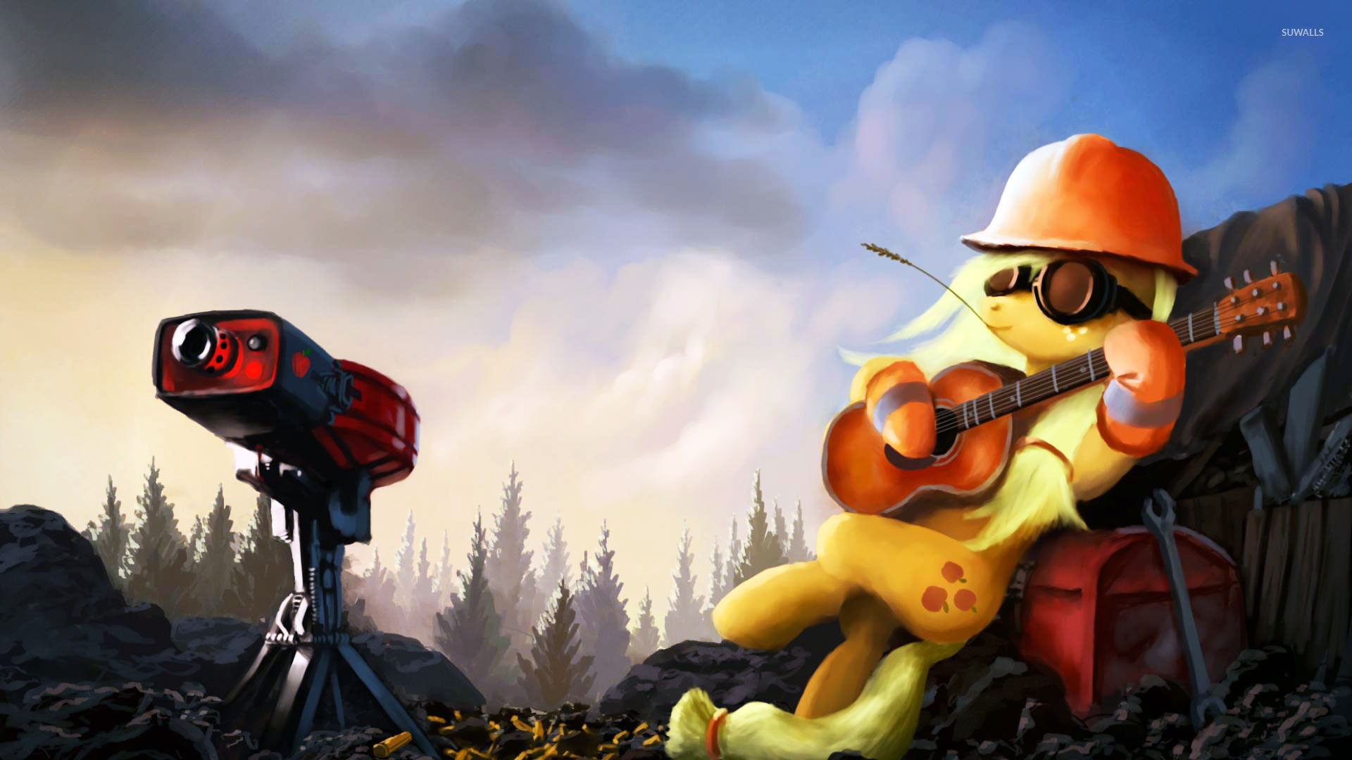 Applejack – My Little Pony Friendship is Magic wallpaper jpg