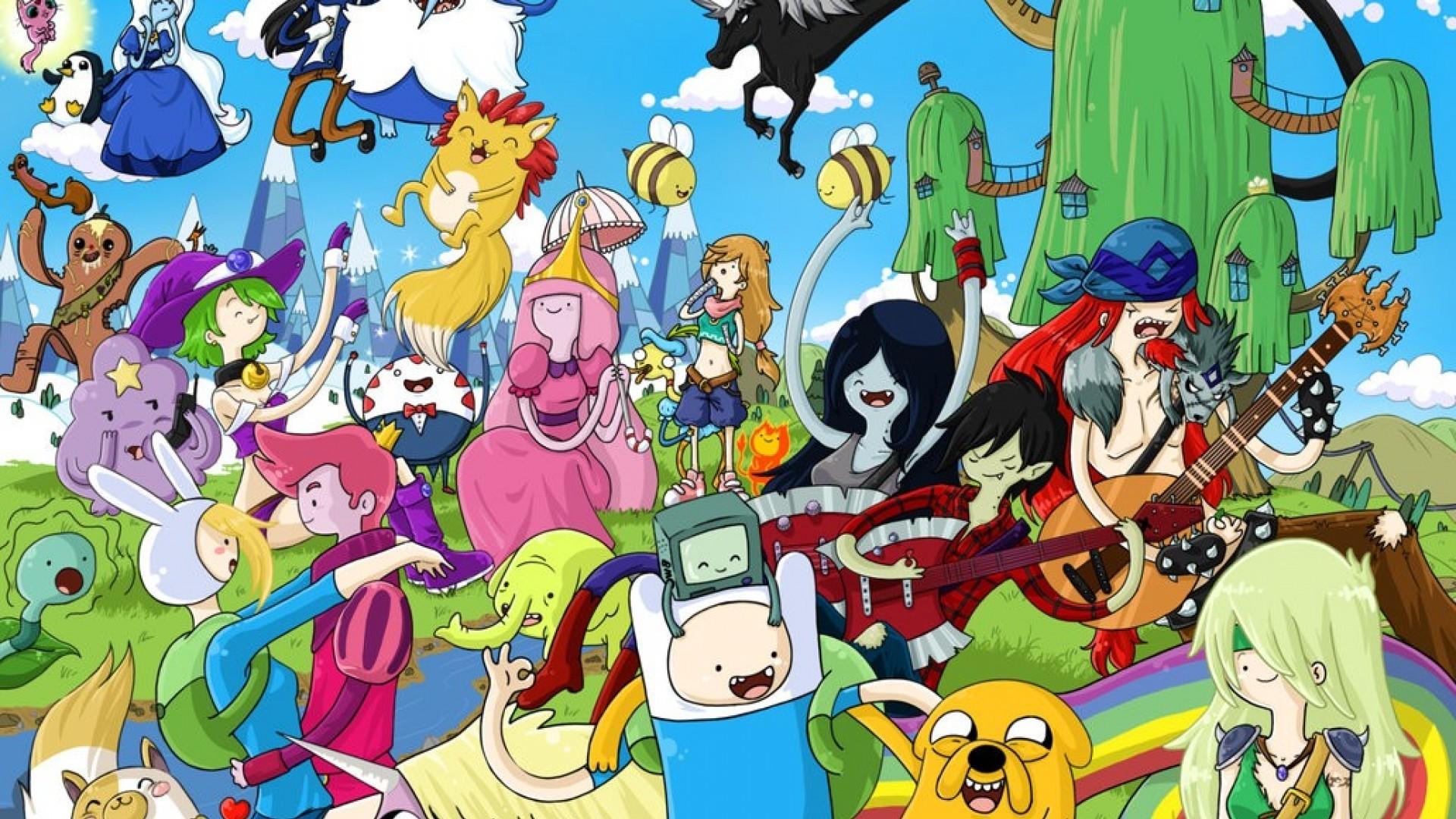 Adventure Time Wallpaper. 1920×1080