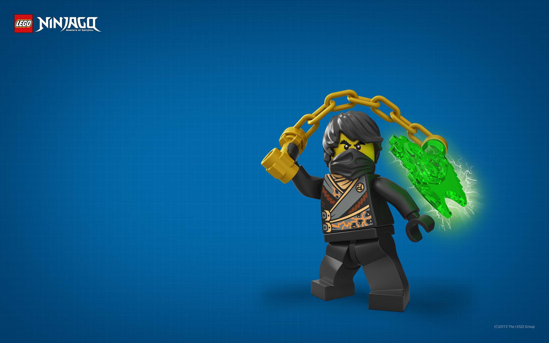 Wallpaper: LEGO Ninjago – Cole