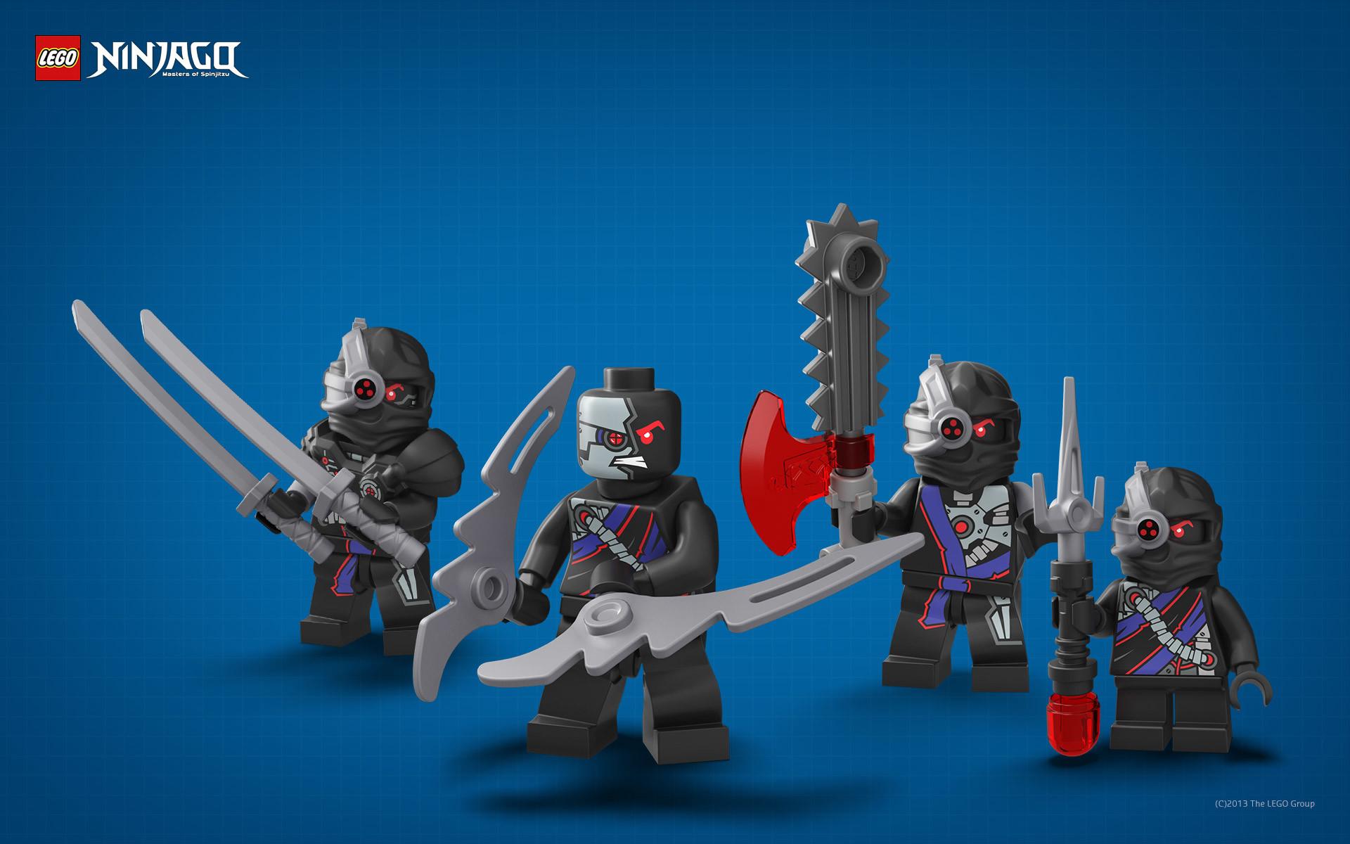 Wallpaper: LEGO Ninjago – Ninroids