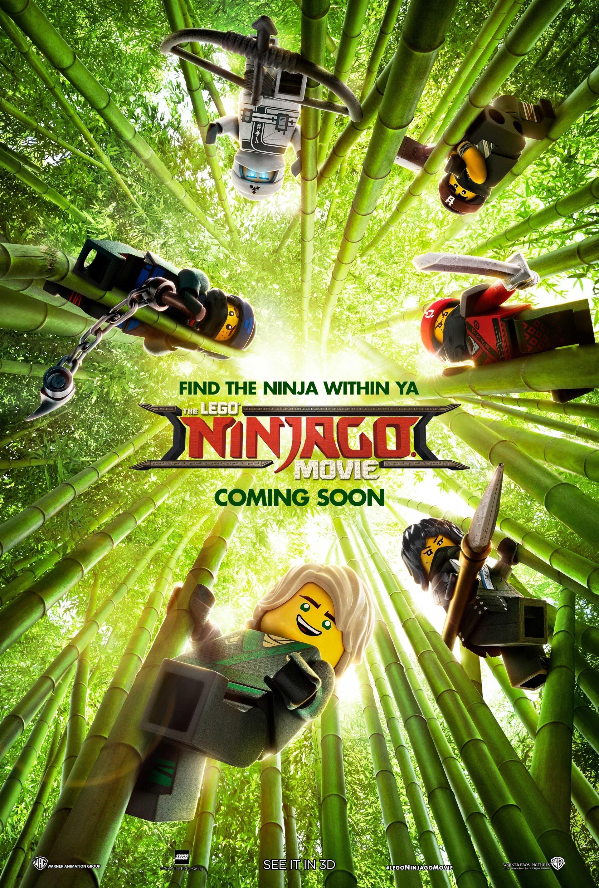 The Lego Ninjago Movie (2017) HD Wallpaper From Gallsource.com