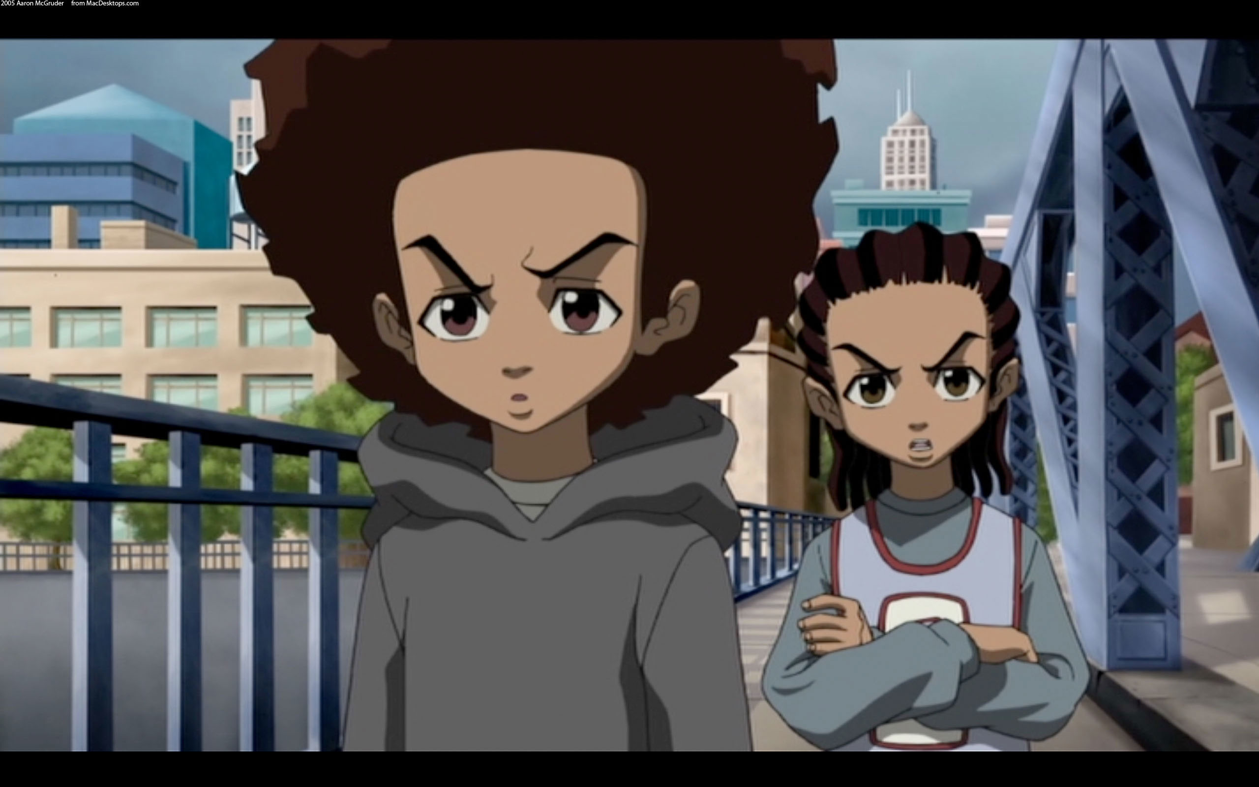 The Boondocks Images   Crazy Gallery