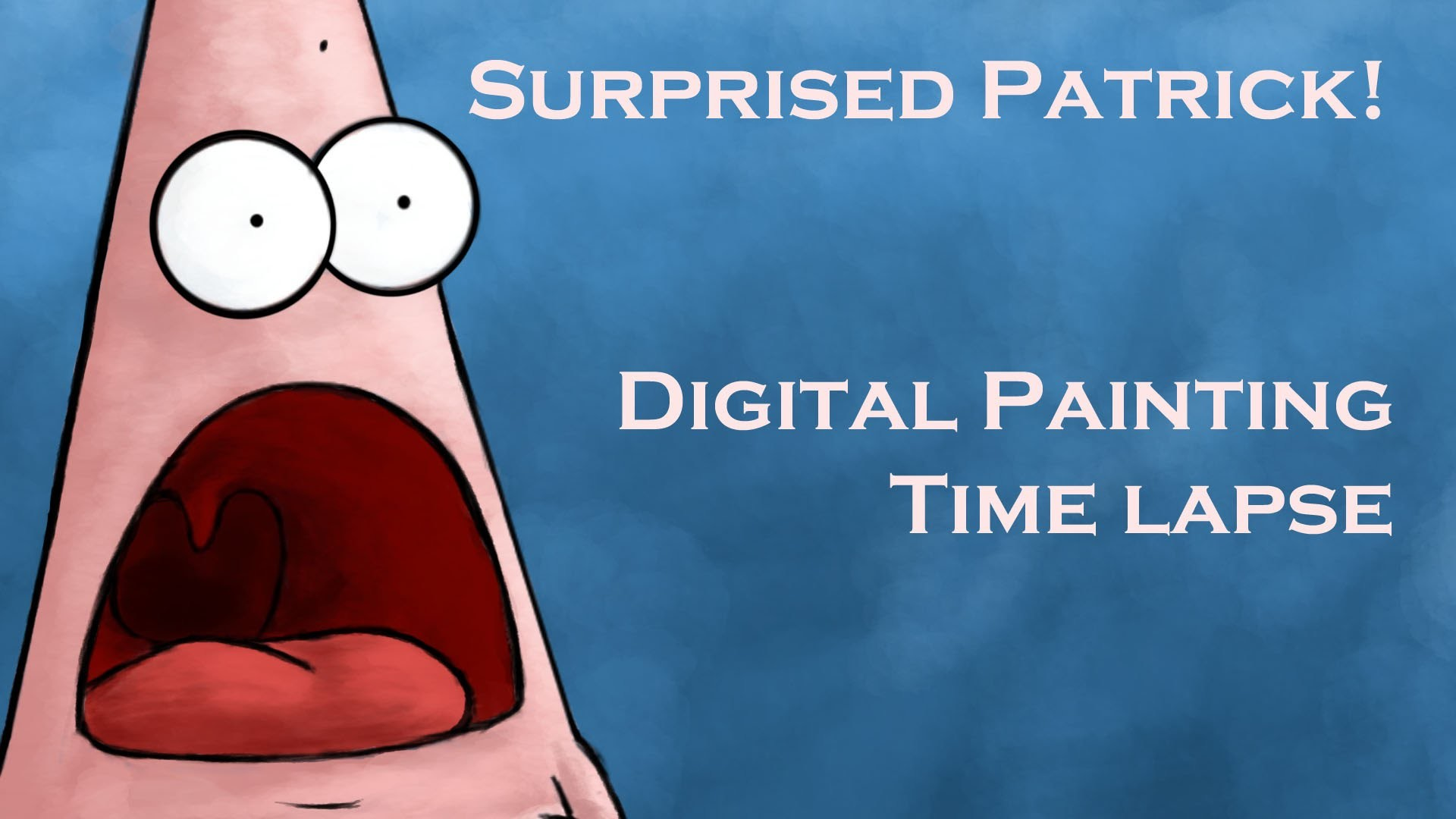 Surprised Patrick | Digital Painting Time Lapse