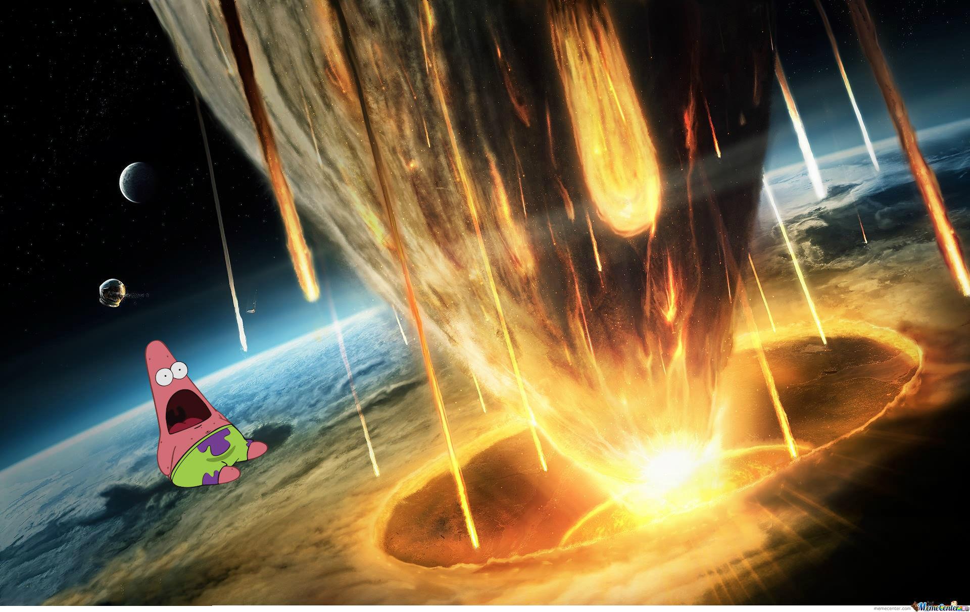 Surprised Patrick Explosion by thezephyrishere – Meme Center