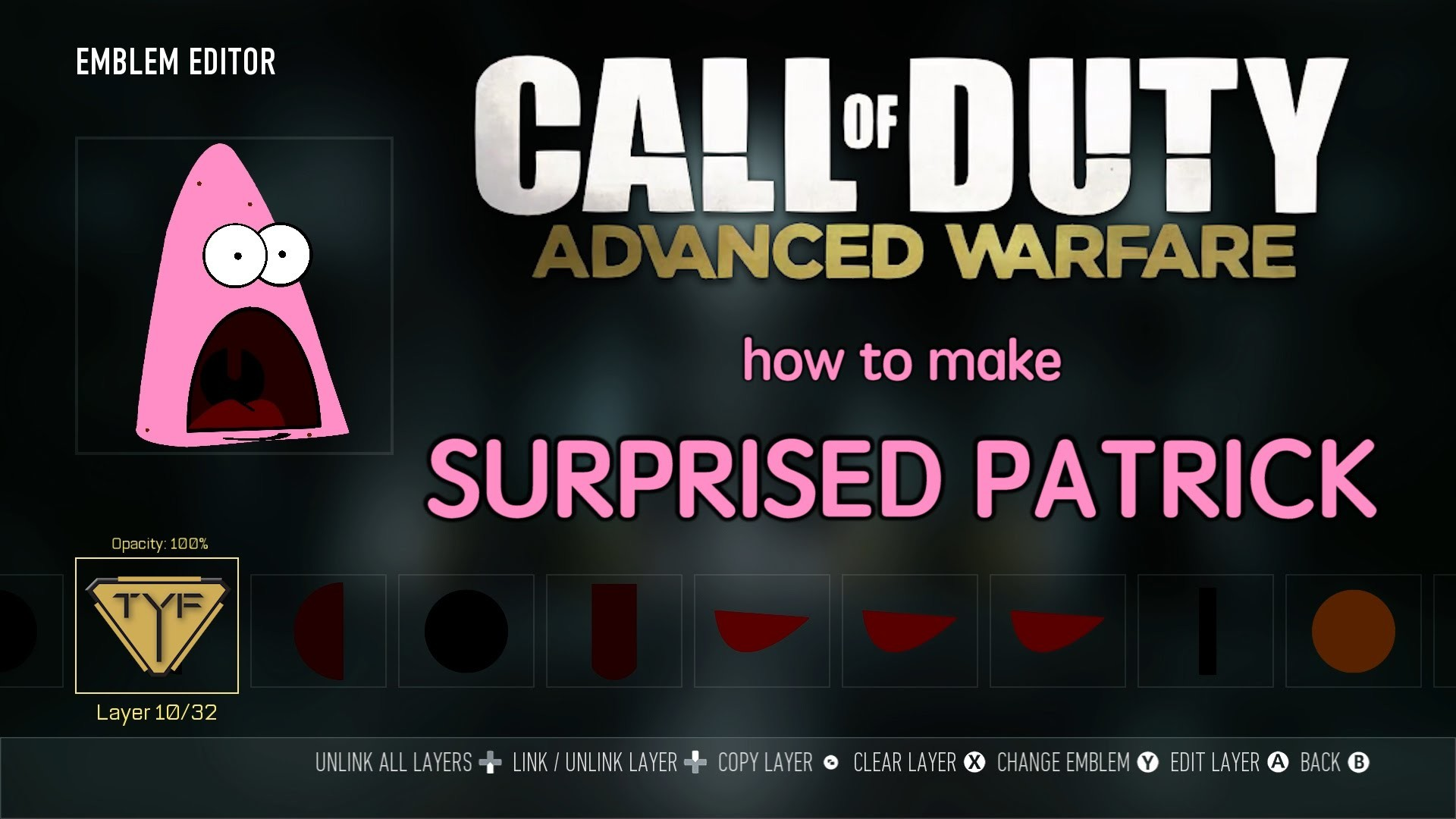 How to Make SURPRISED PATRICK in Call of Duty: Advanced Warfare!