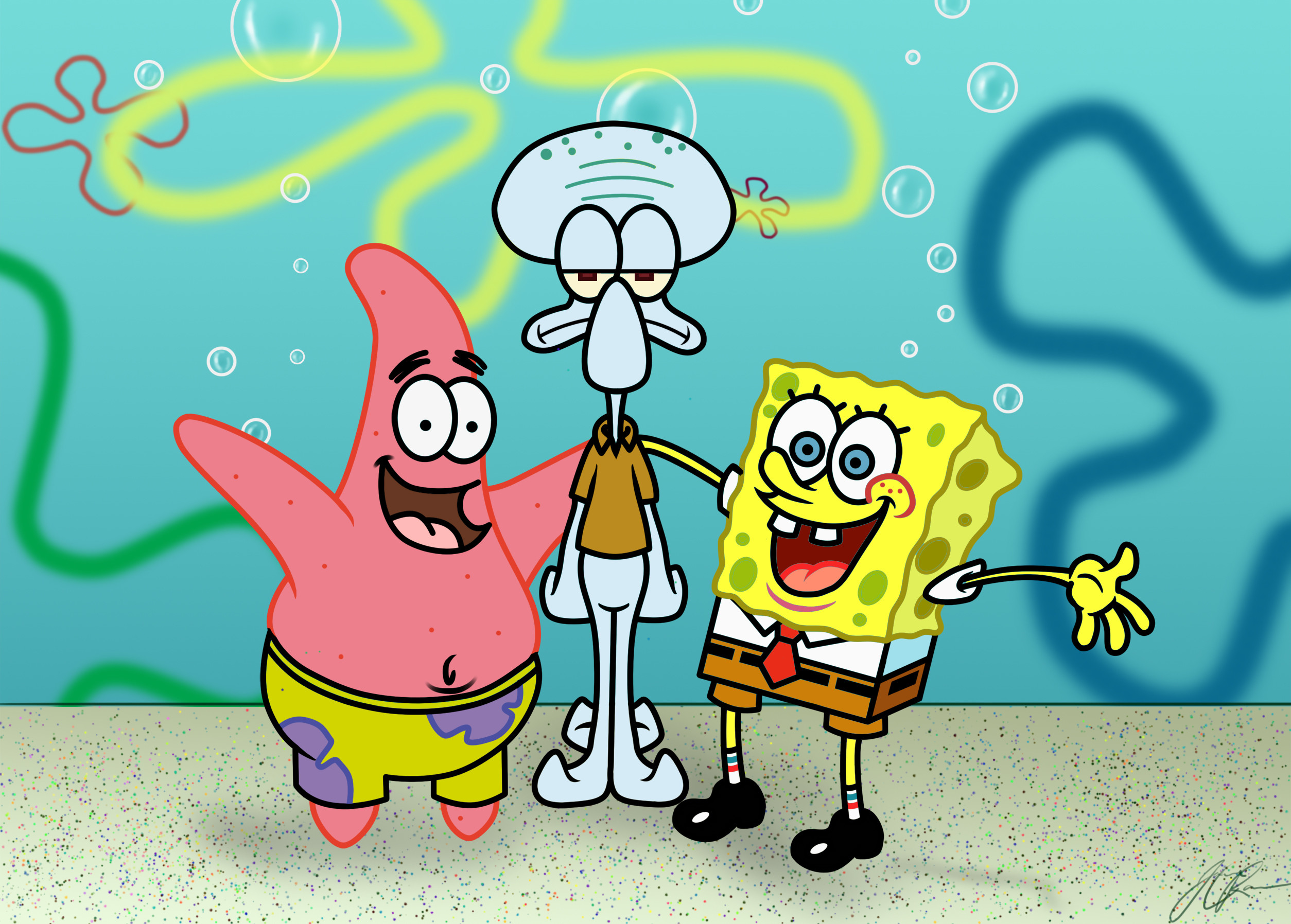 Download this Wallpaper Cartoon Spongebob The Squarepants Wiki picture