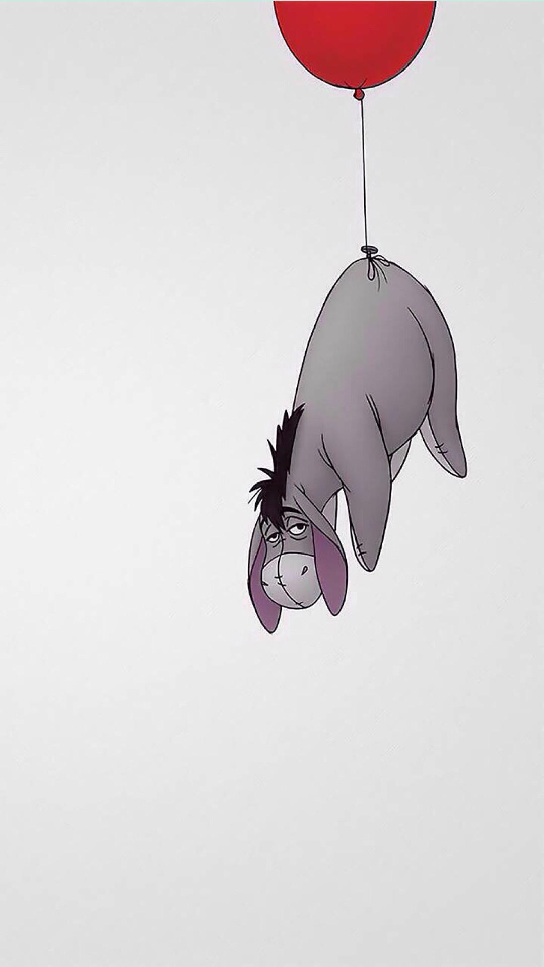 Eeyore Winnie The Pooh iPhone 6+ HD Wallpaper – https://freebestpicture.