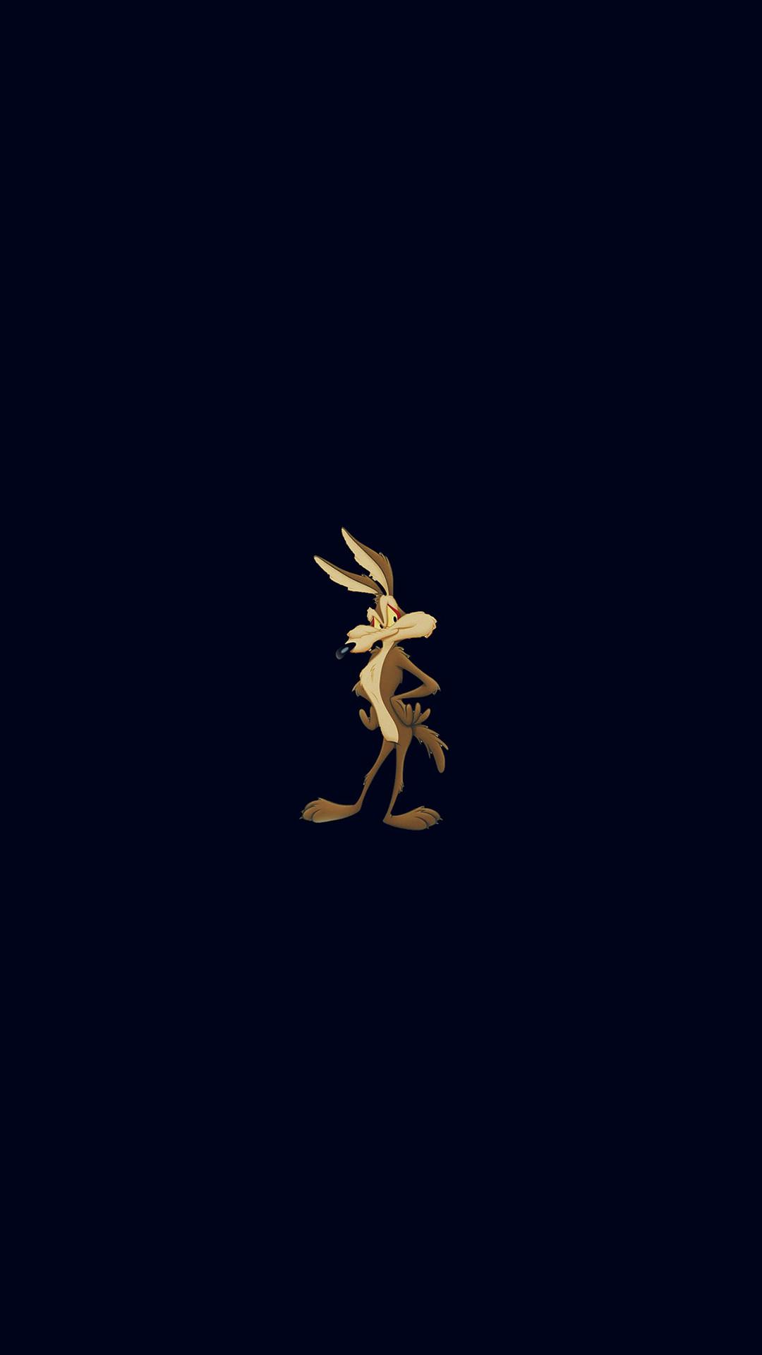 Cute Bugs Bunny Cartoon Dark Illust Art iPhone 8 wallpaper