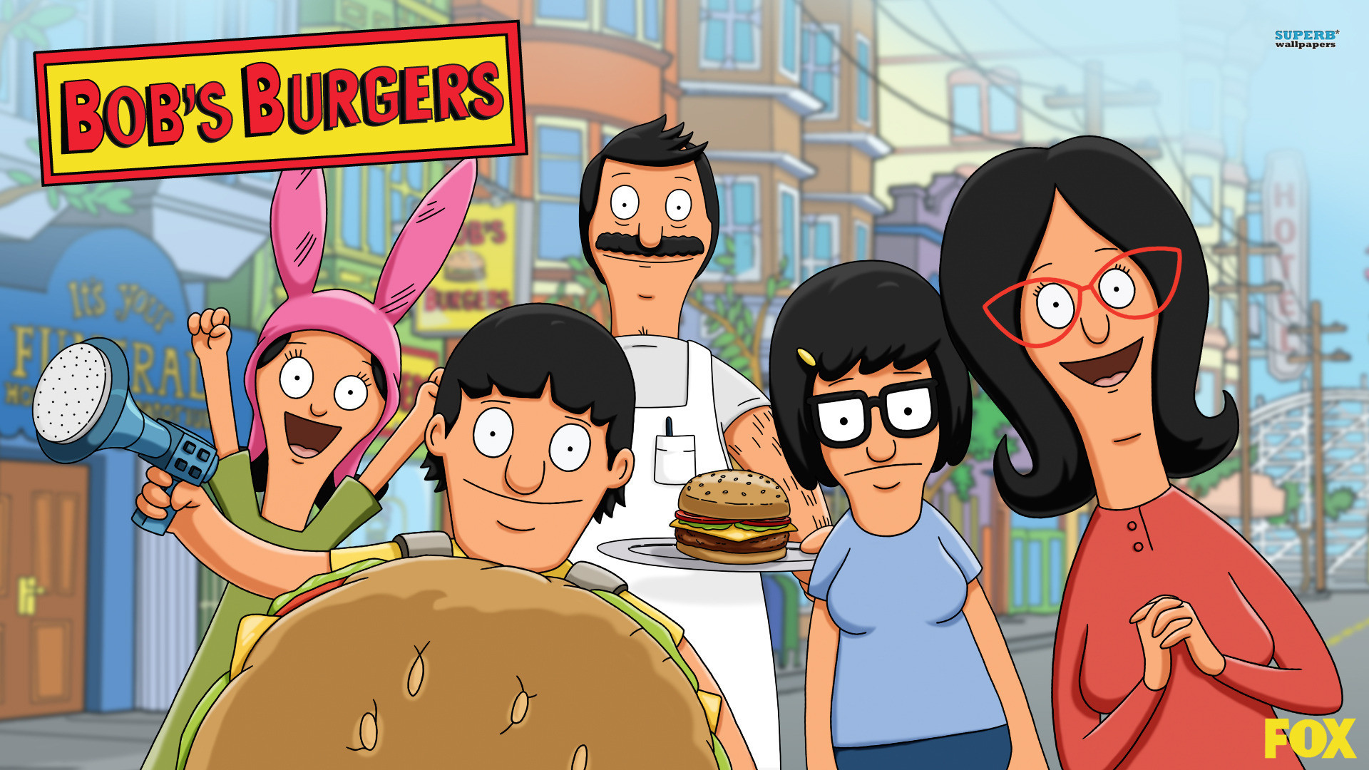 bob's burgers backgrounds – Google Search