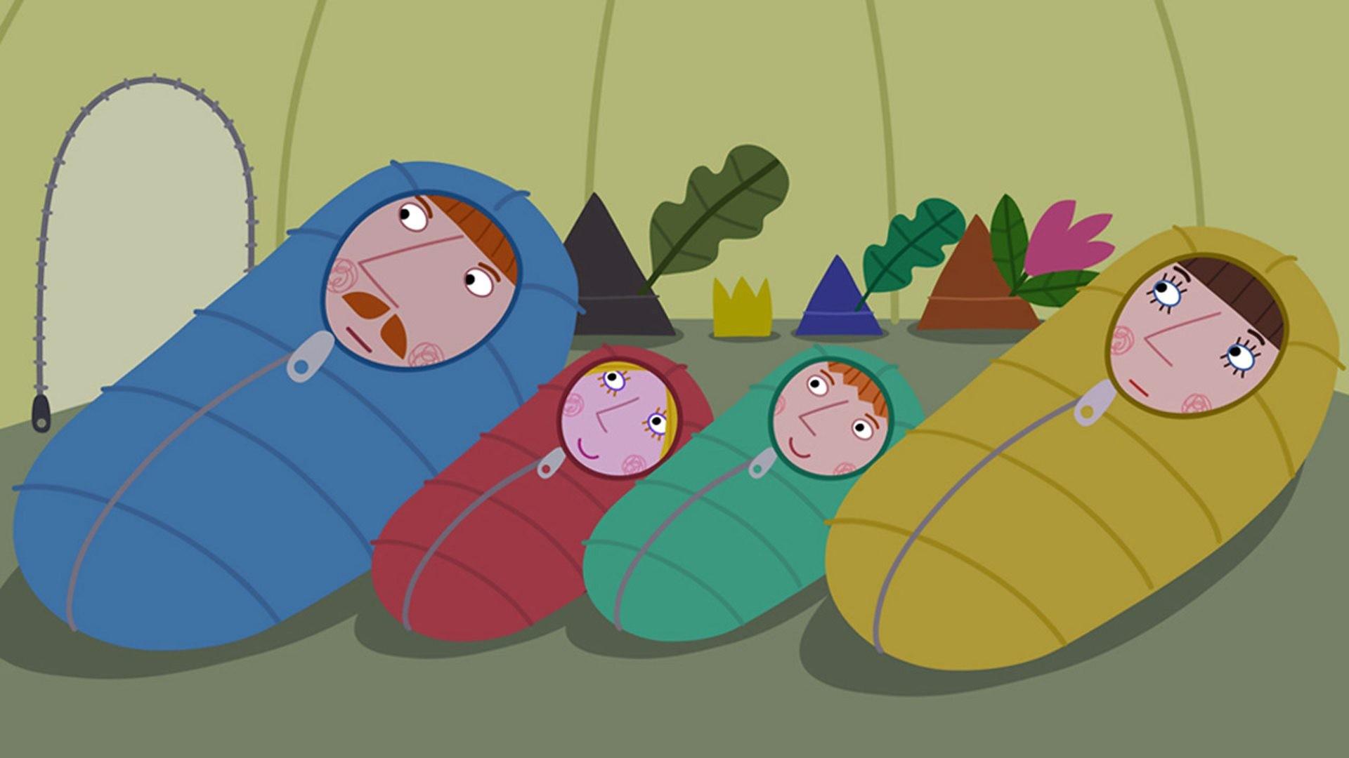 BBC ALBA – Ben & Hoilidh san Rìoghachd Bhig/Ben & Holly's Little Kingdom,  Fo Chanabhas/Camping Out