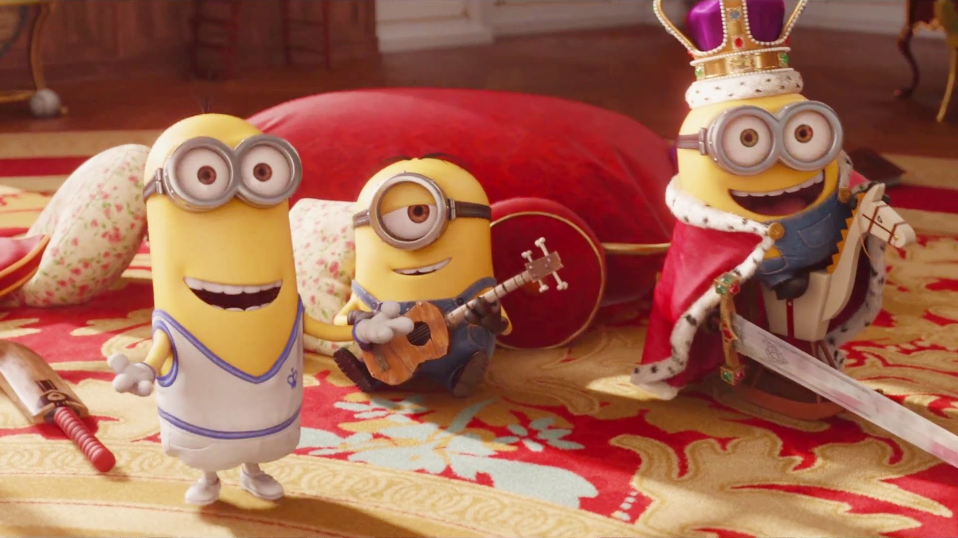 MINIONS – Official Trailer 3 (2015) Despicable Me Spin-off HD – YouTube