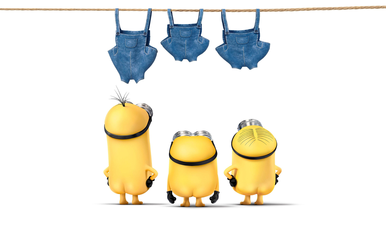Funny Minions Movie Desktop Wallpaper