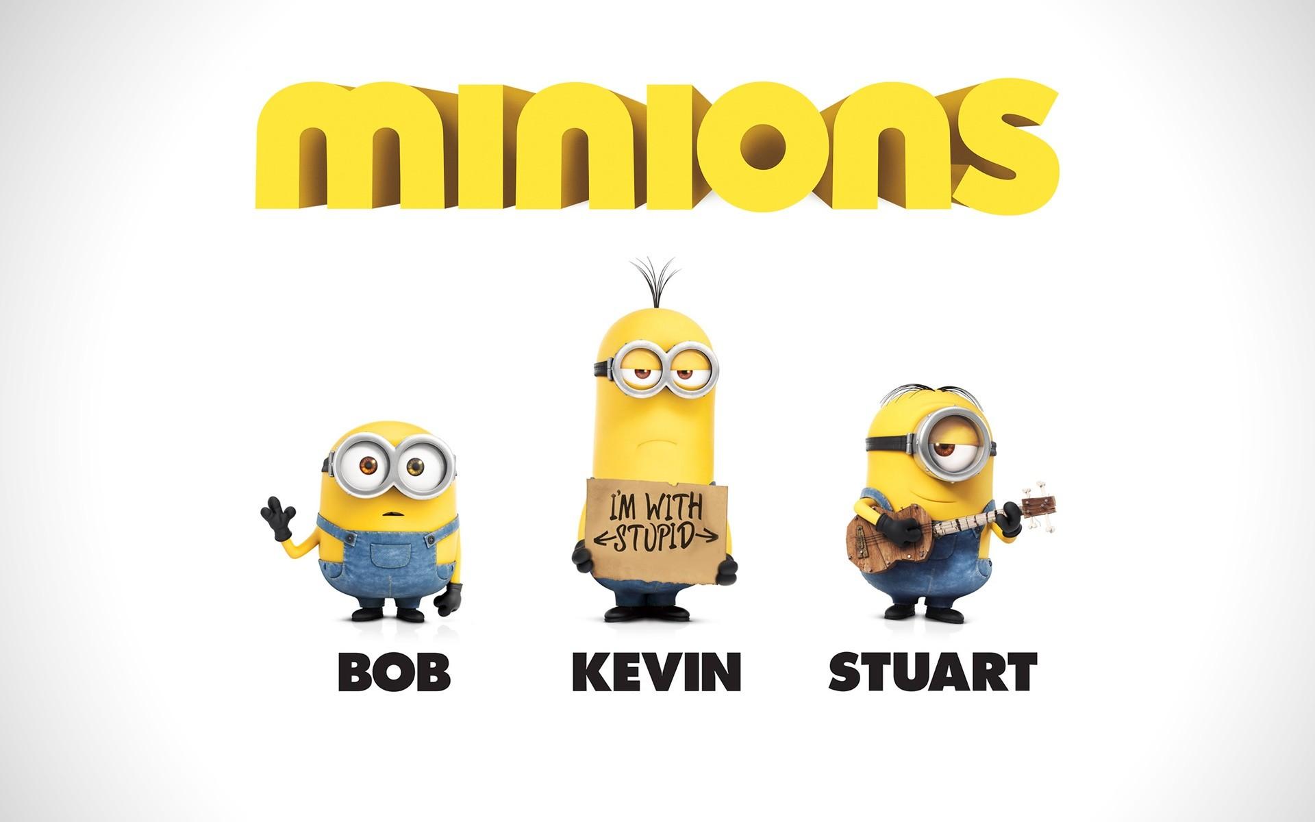 Minions Bob Kevin Stuart Desktop Wallpaper