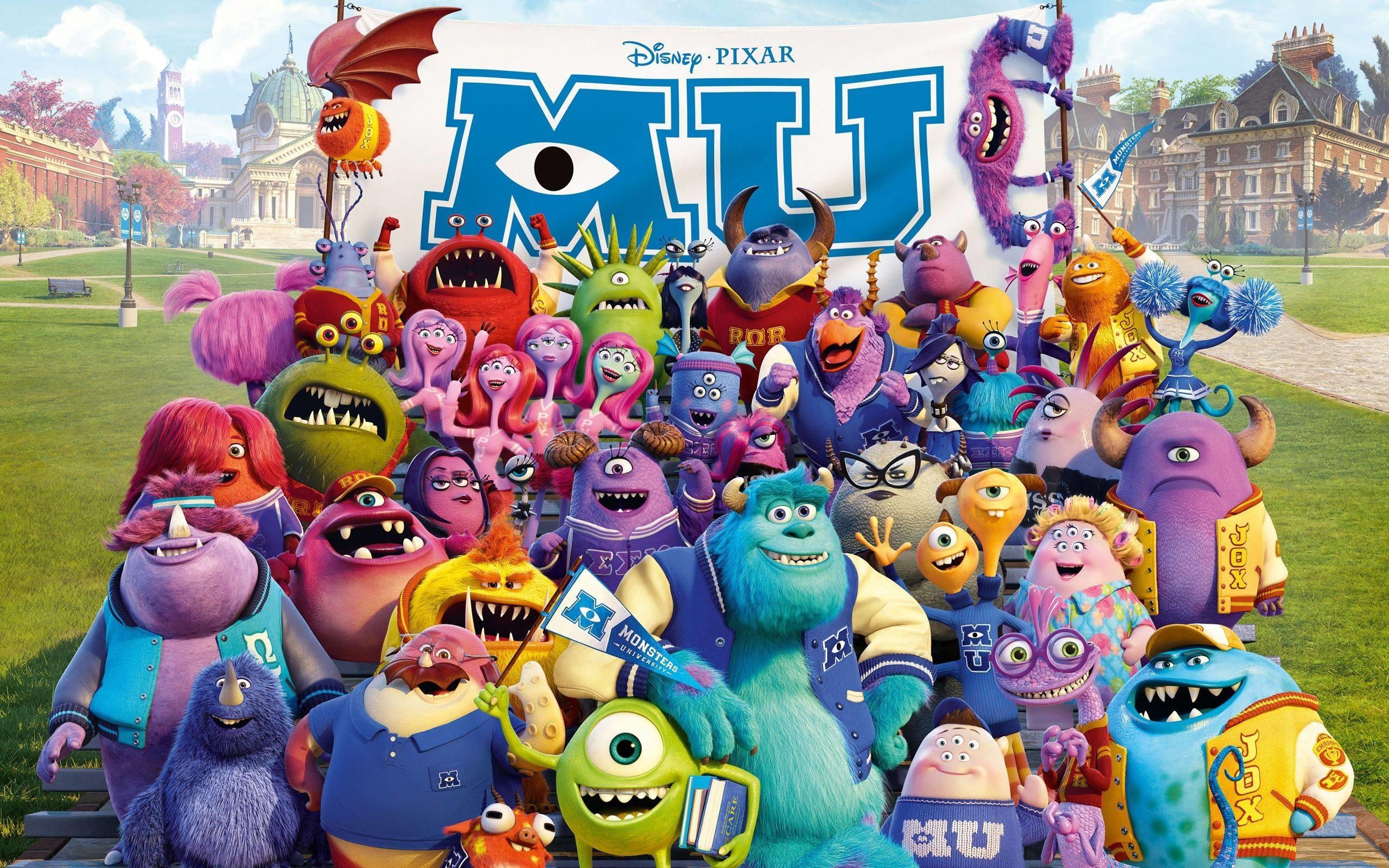 Disney-Movie-Monsters-University disney HD free wallpapers .
