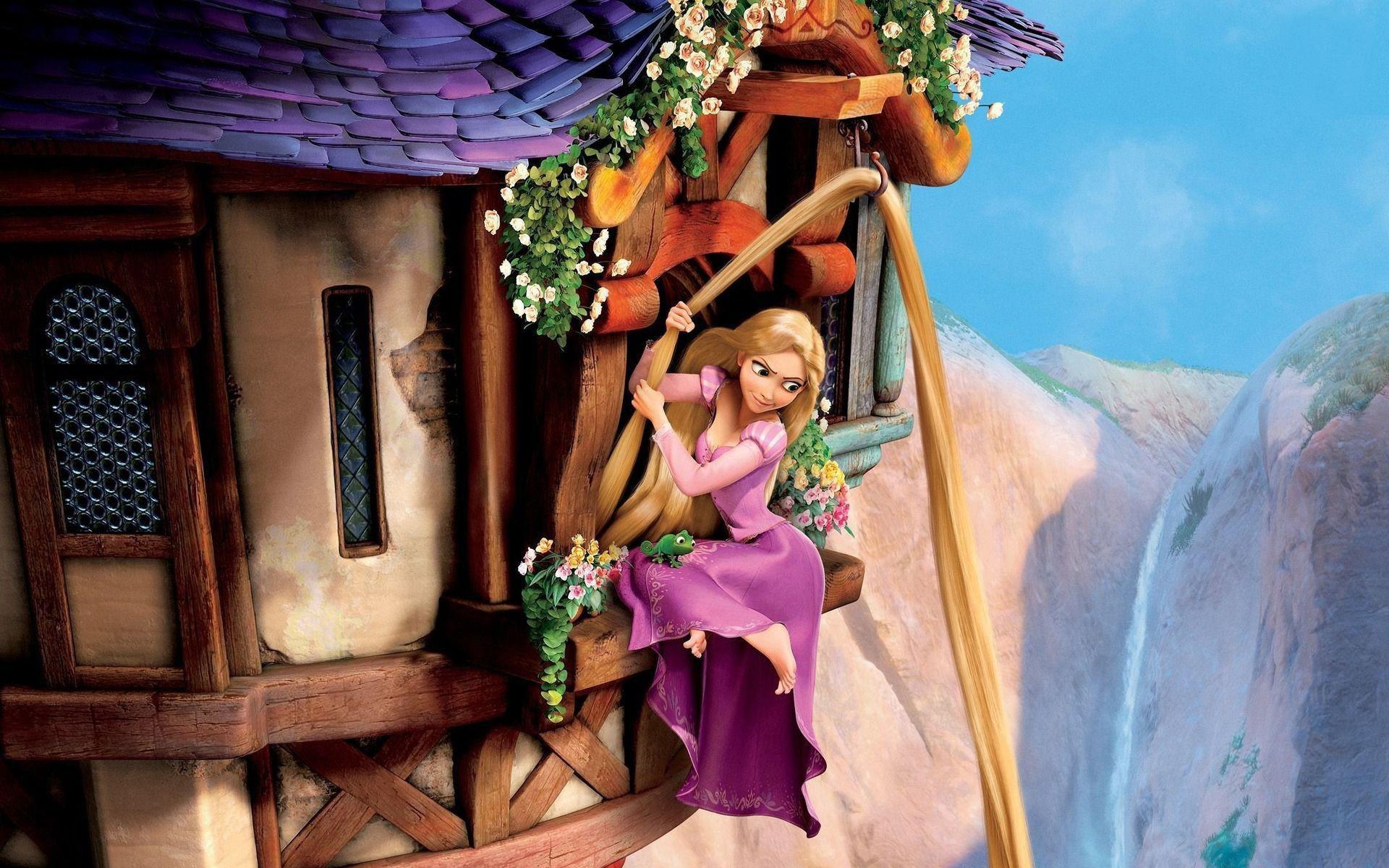 Rapunzel Tangled Cartoon Movie Wallpapers