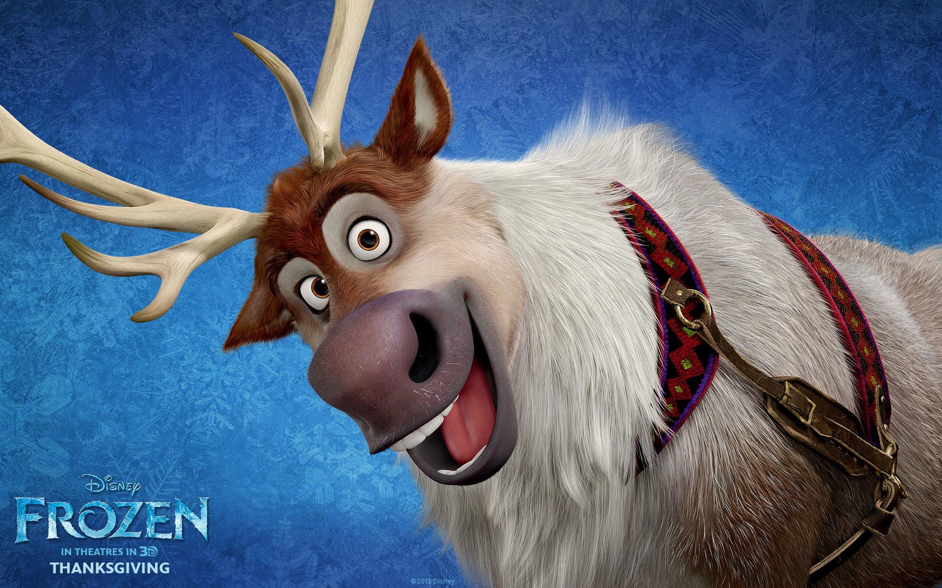 Frozen Movie Sven HD Wallpaper