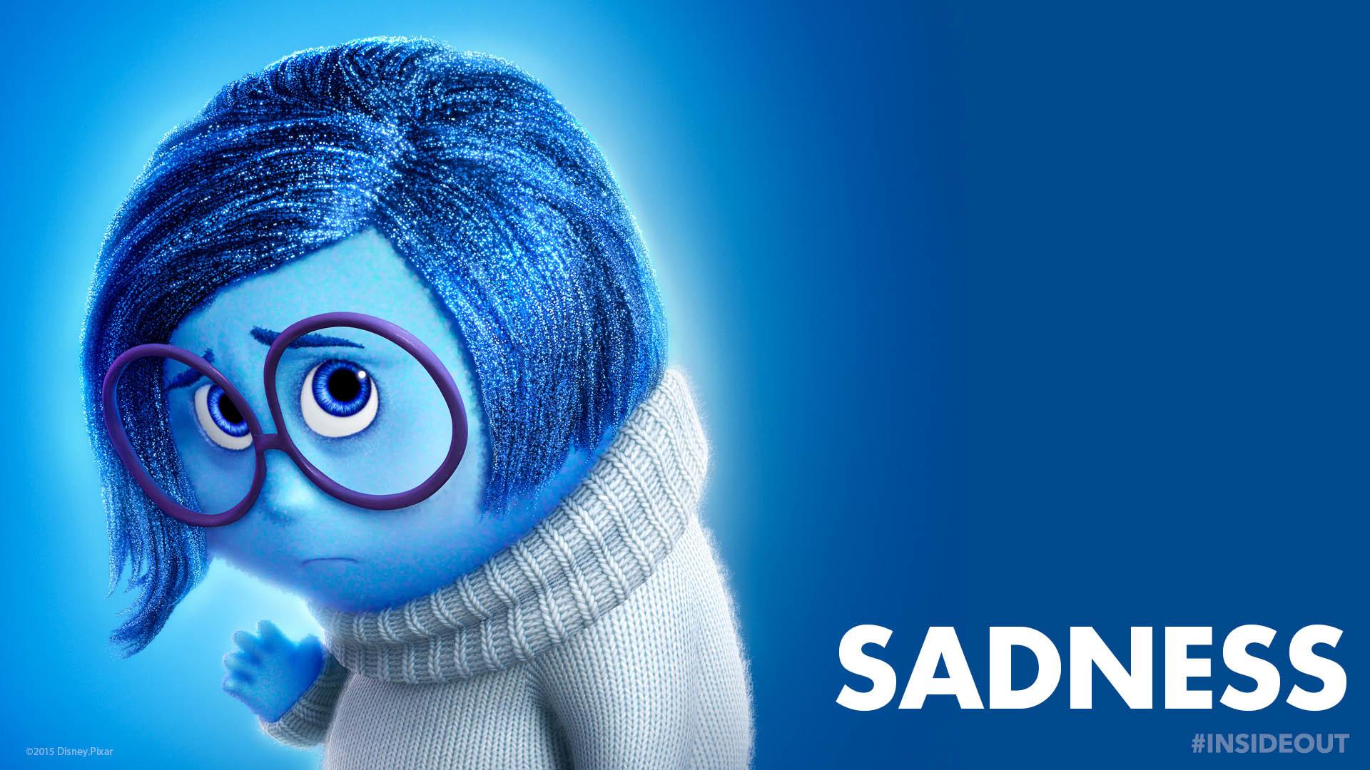 Inside Out character: Sadness – Disney Pixar wallpaper