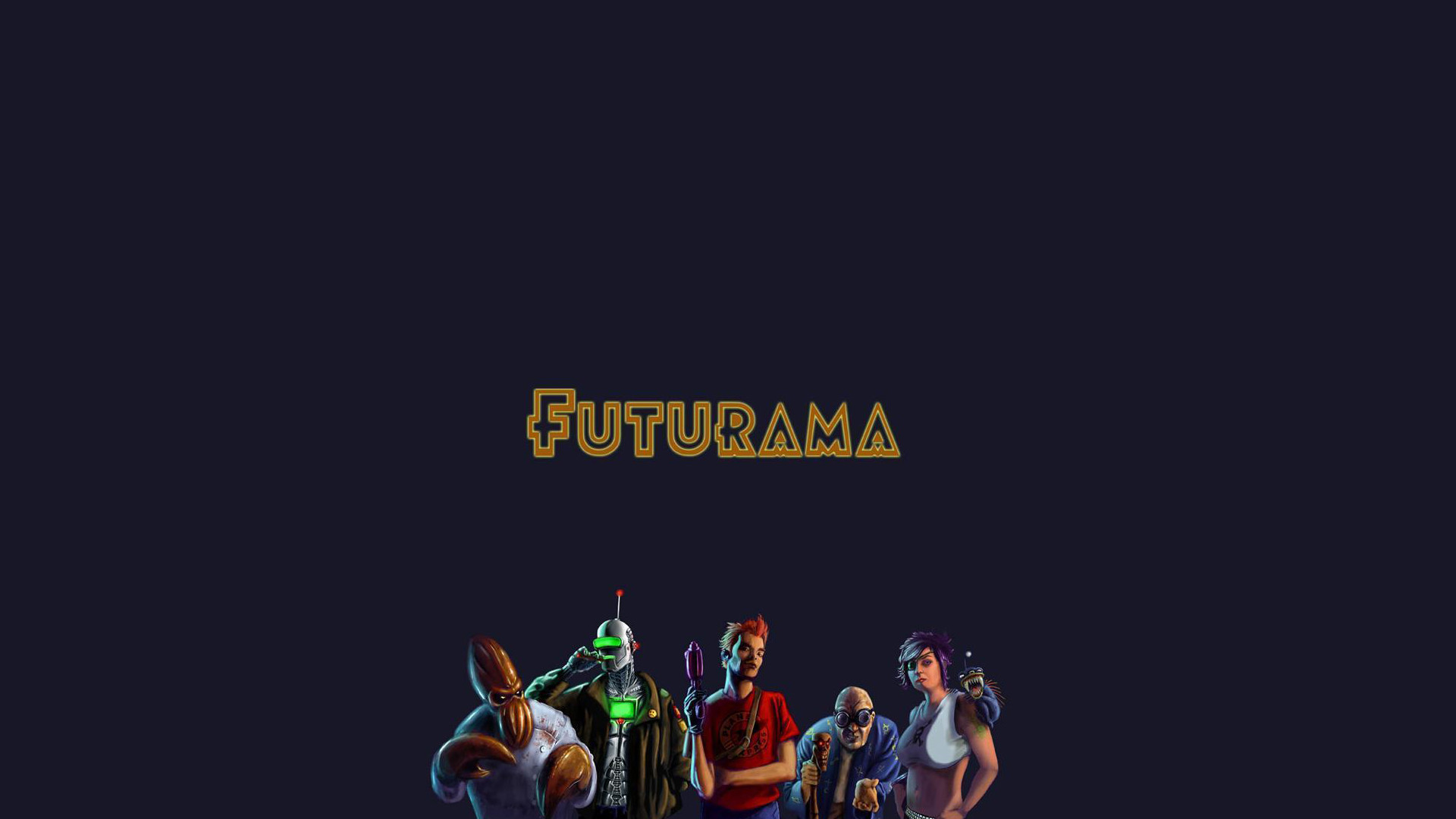 Futurama Wallpaper – Mind Control Industries Graphic Design Madison 5