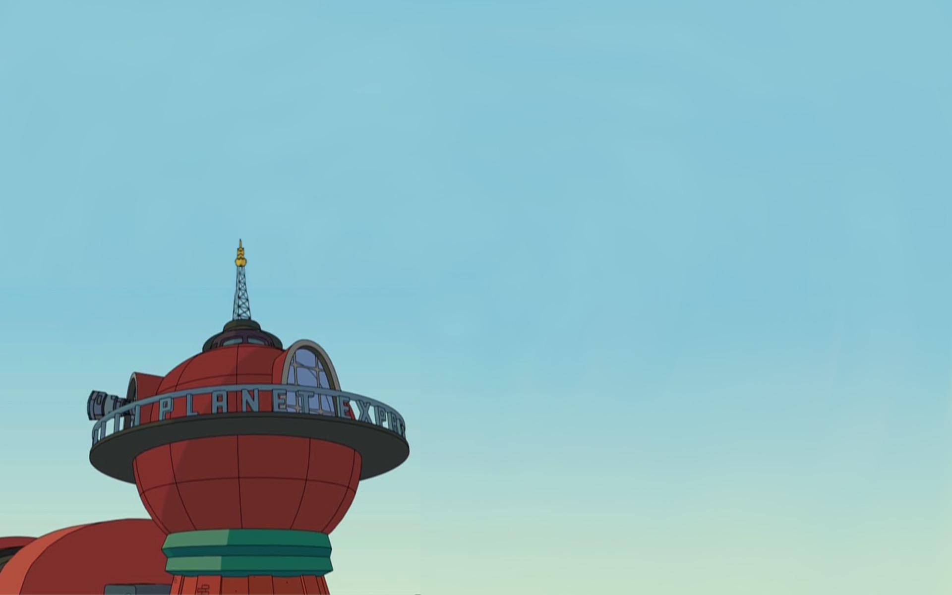 I made a Futurama background